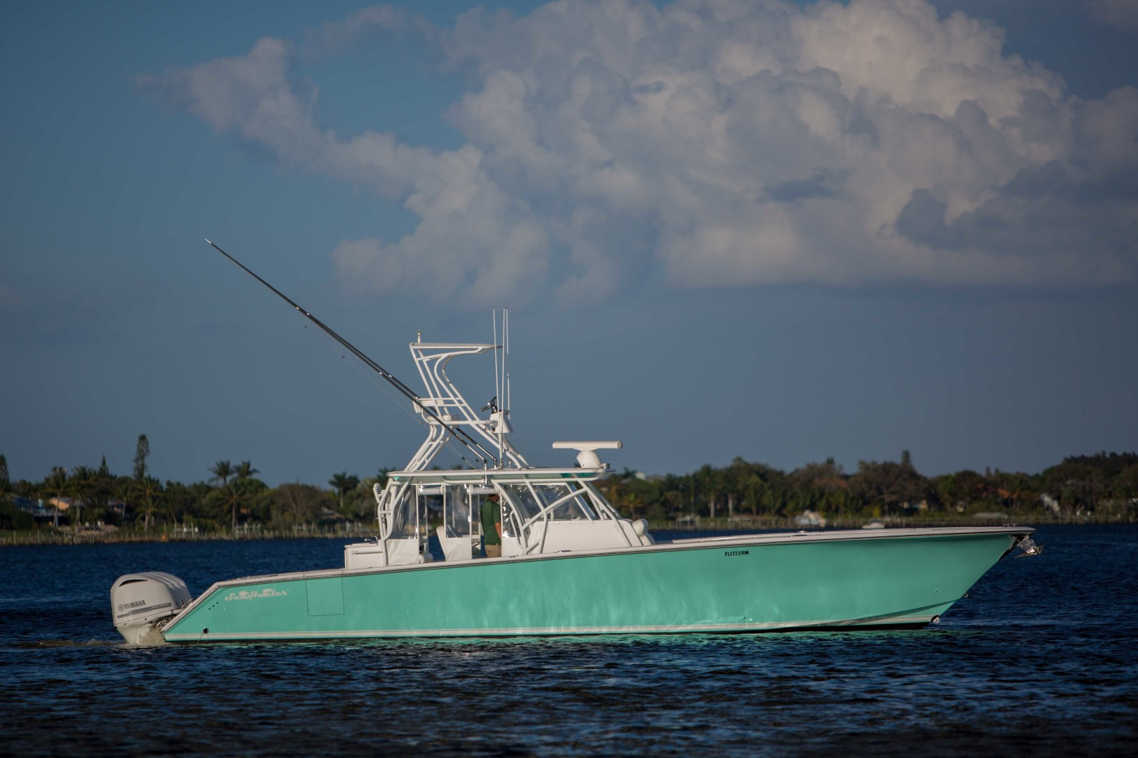 45' SeaHunter 2018 Center Console 45 SeaHunter 2018
