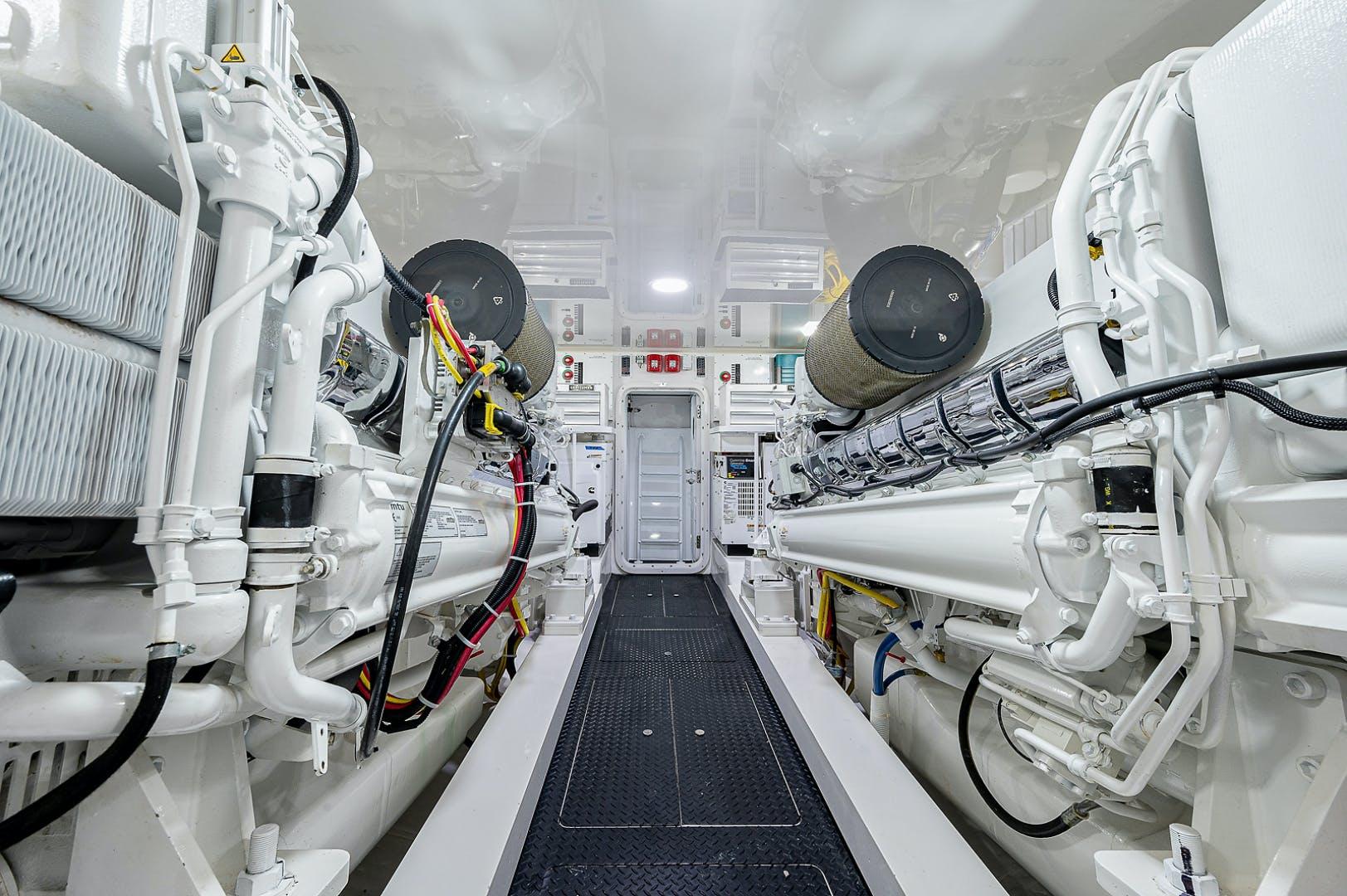 2020 Viking 72' Enclosed Bridge THREE'S ENOUGH | Picture 8 of 55