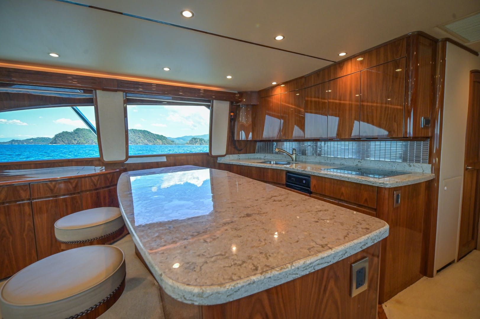 2017 Viking 66' 66 Convertible Galati Yacht Sales Trade | Picture 2 of 78