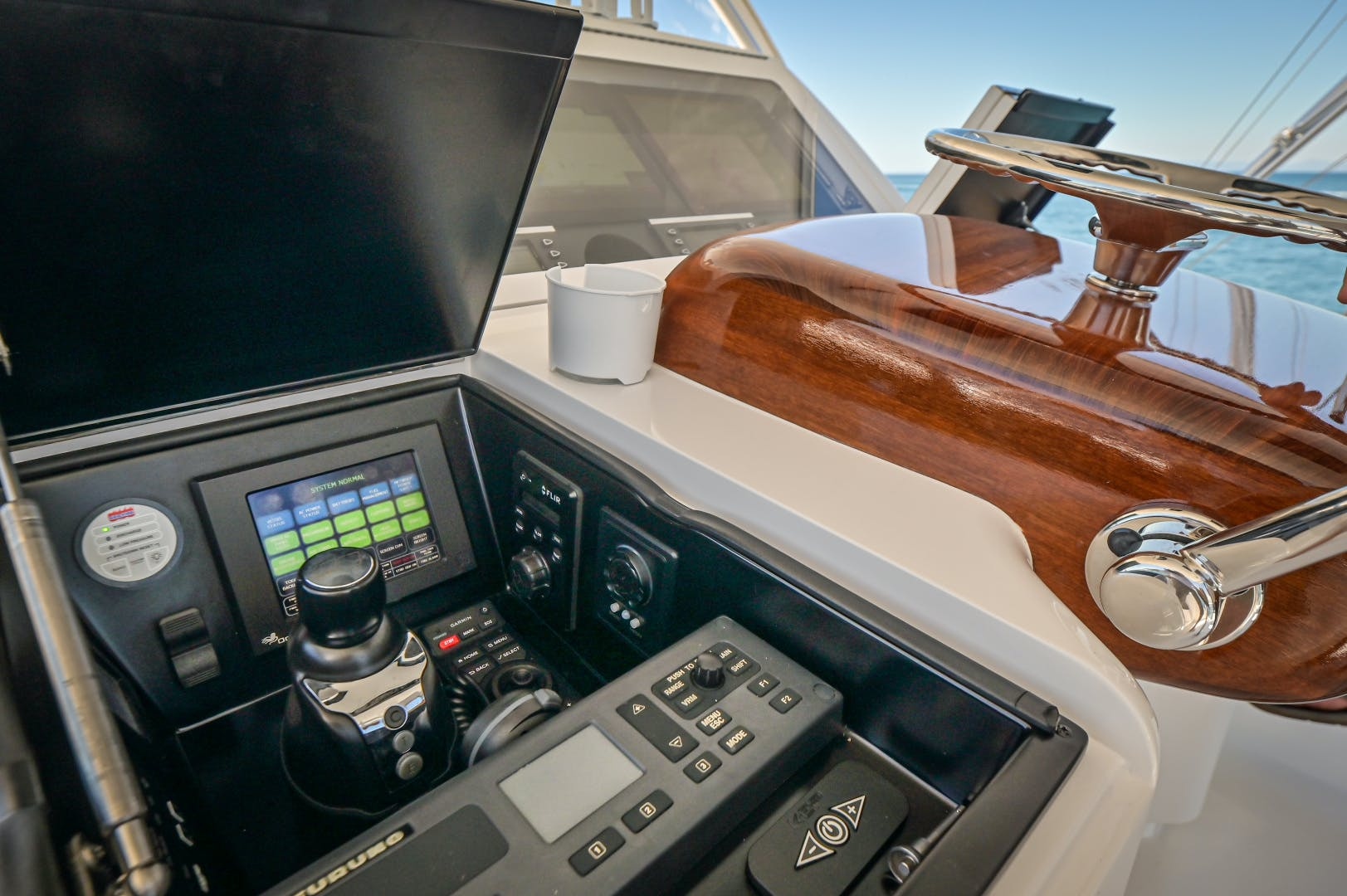 2017 Viking 66' 66 Convertible Galati Yacht Sales Trade | Picture 6 of 78