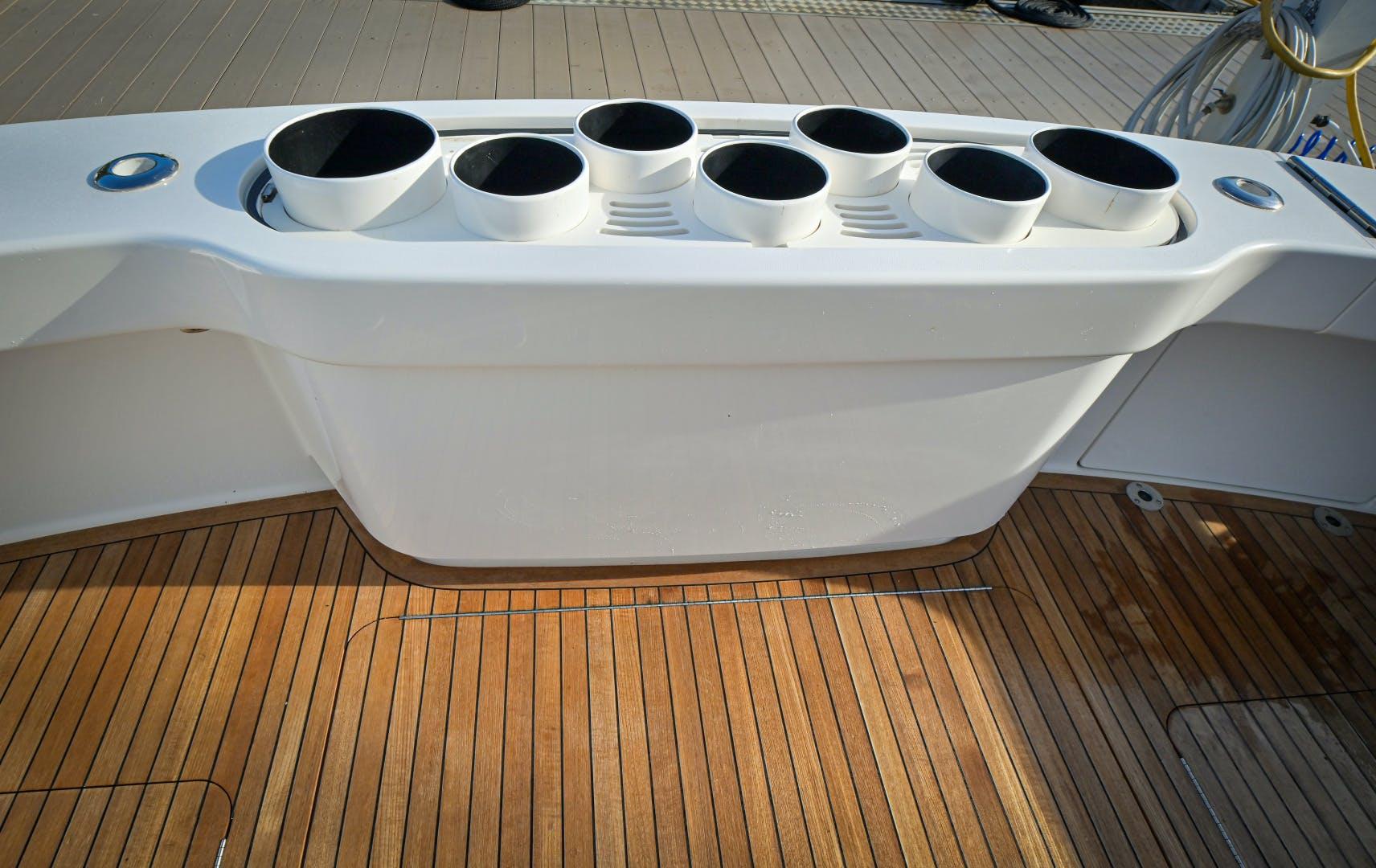 2017 Viking 66' 66 Convertible Galati Yacht Sales Trade | Picture 3 of 78