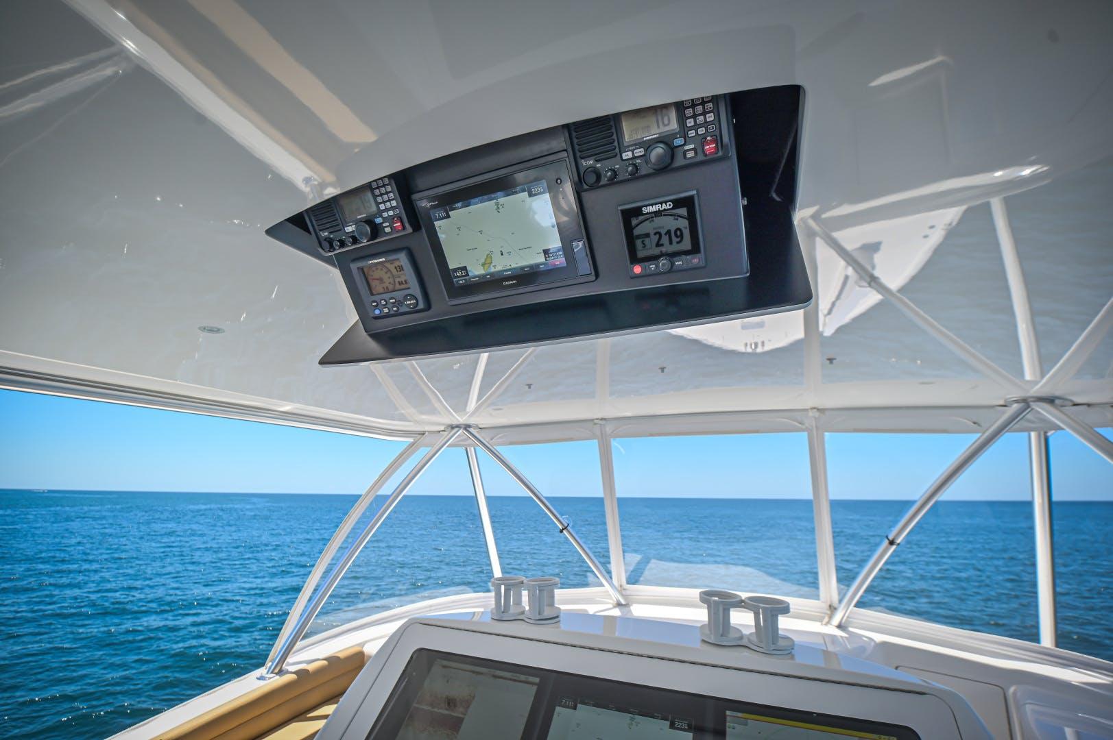 2017 Viking 66' 66 Convertible Galati Yacht Sales Trade | Picture 8 of 78