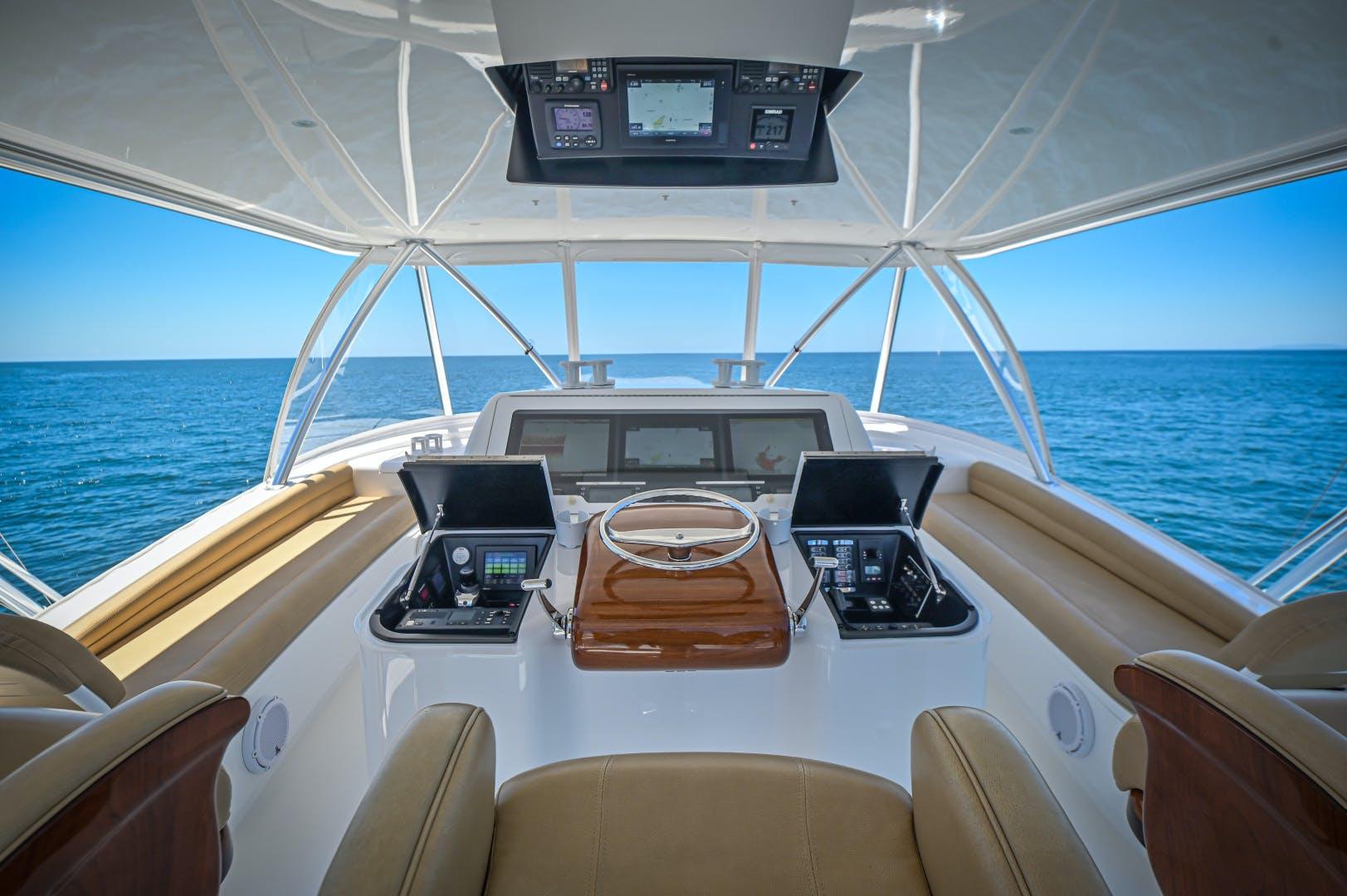 2017 Viking 66' 66 Convertible Galati Yacht Sales Trade | Picture 7 of 78