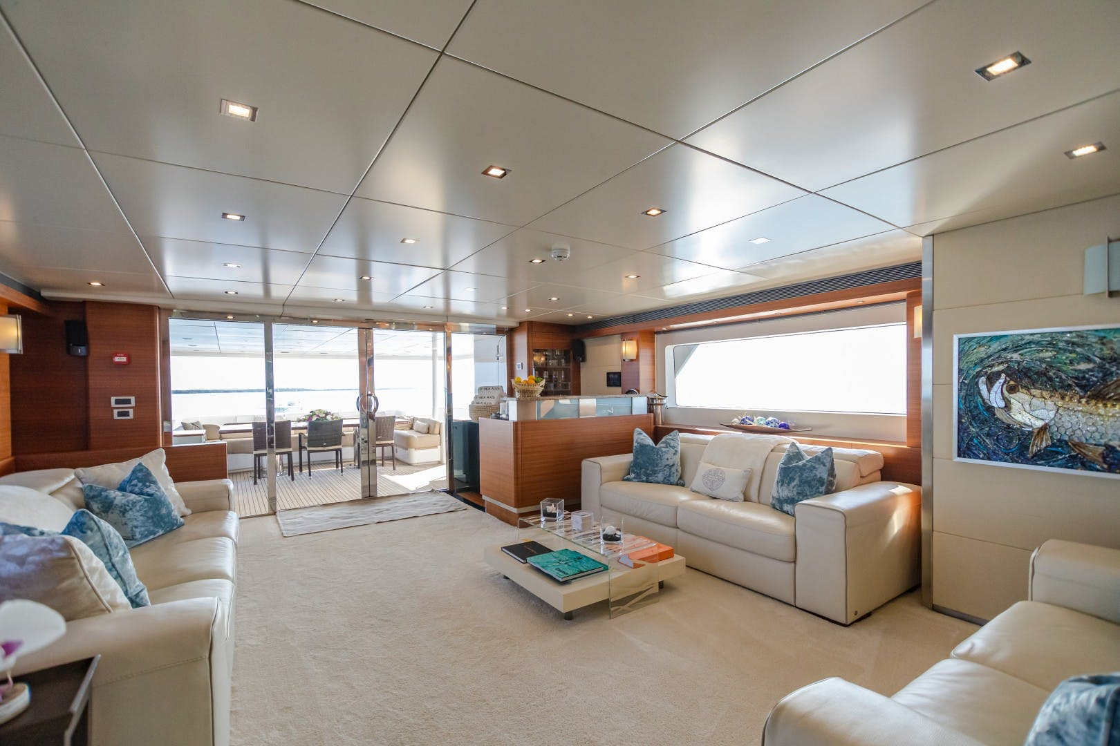1986 Heesen Yachts 125' Tri-Deck SEA AXIS   Picture 3 of 56