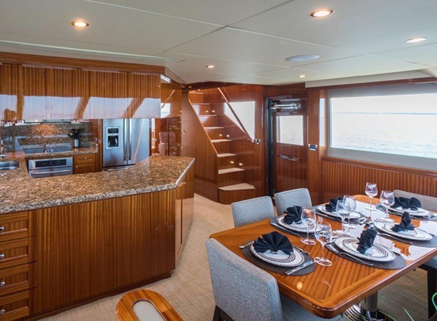 2014 Ocean Alexander 78' 78 Enclosed Bridge ANN LOUISE | Picture 5 of 39