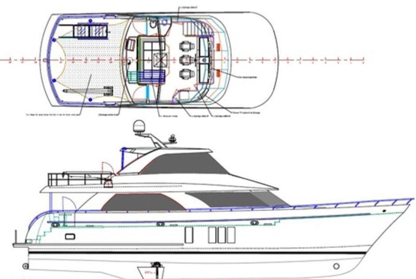 2014 Ocean Alexander 78' 78 Enclosed Bridge ANN LOUISE | Picture 6 of 39