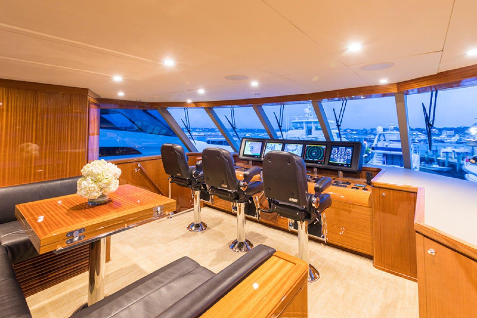 2014 Ocean Alexander 78' 78 Enclosed Bridge ANN LOUISE | Picture 8 of 39