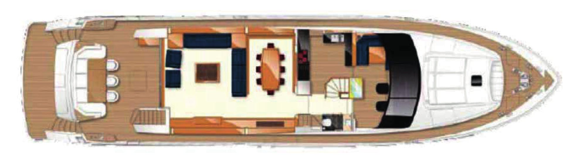 2010 Princess Yachts International 95' 95 HERMITAGE II | Picture 6 of 22
