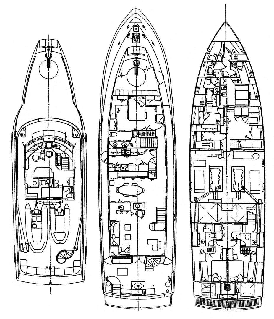1990 Westport 95' Westport / Admiral Marine  EDISON | Picture 2 of 66