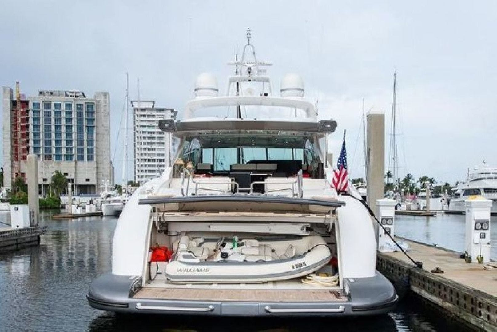 2007 Mangusta 80' Motor Yacht COLD BLOODED   Picture 3 of 38