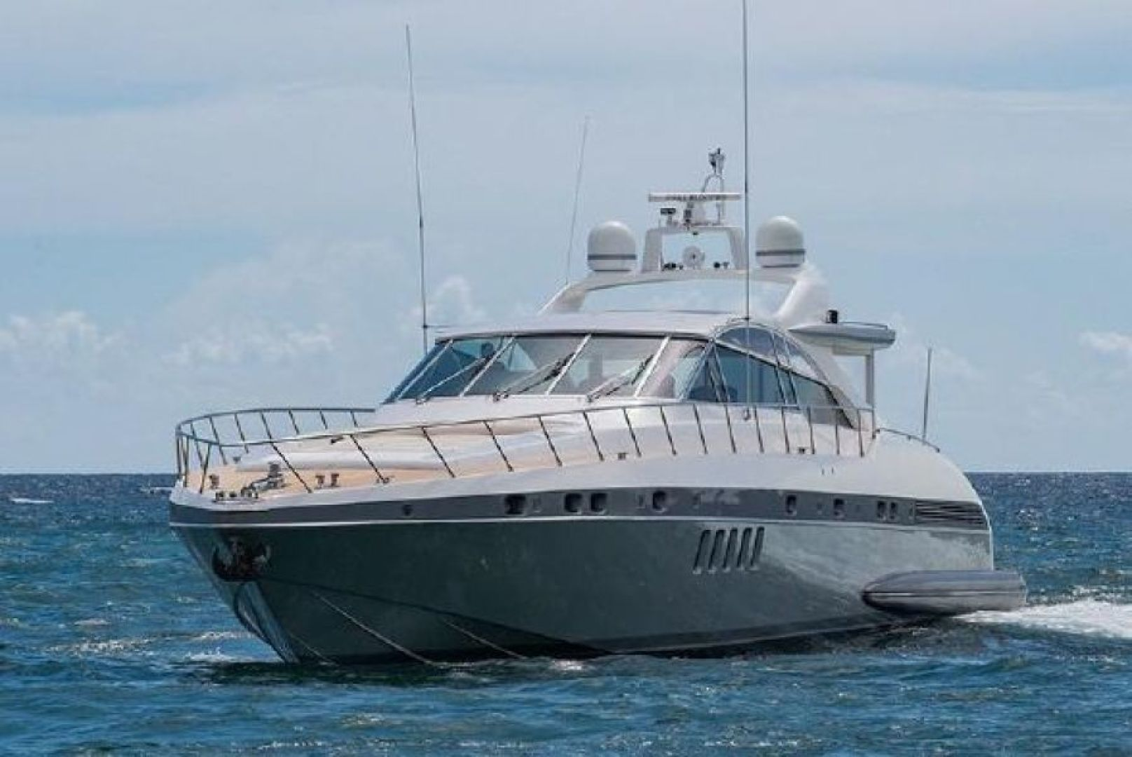 """2007 Mangusta 80' Motor Yacht """"COLD BLOODED"""""""