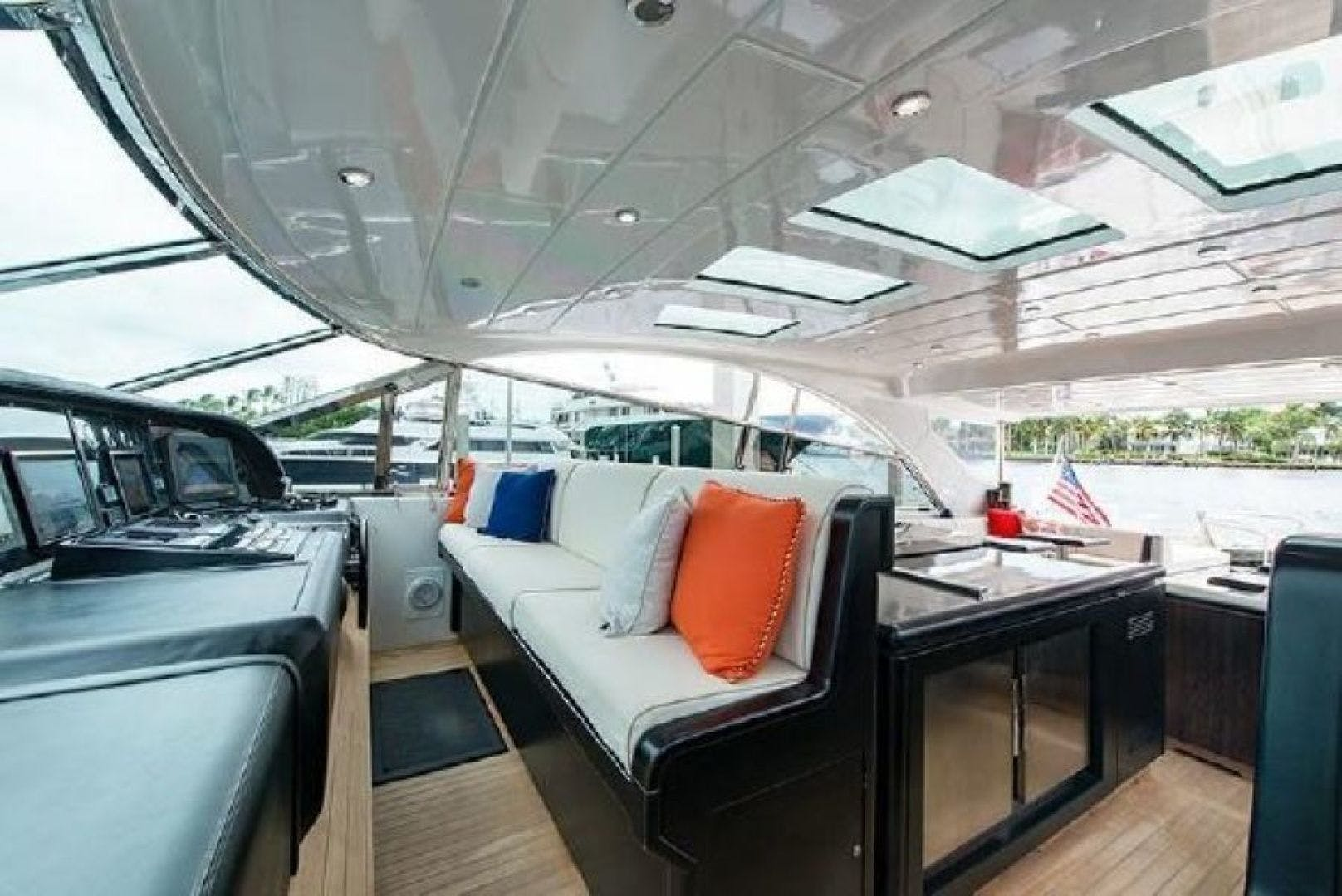 2007 Mangusta 80' Motor Yacht COLD BLOODED   Picture 2 of 38