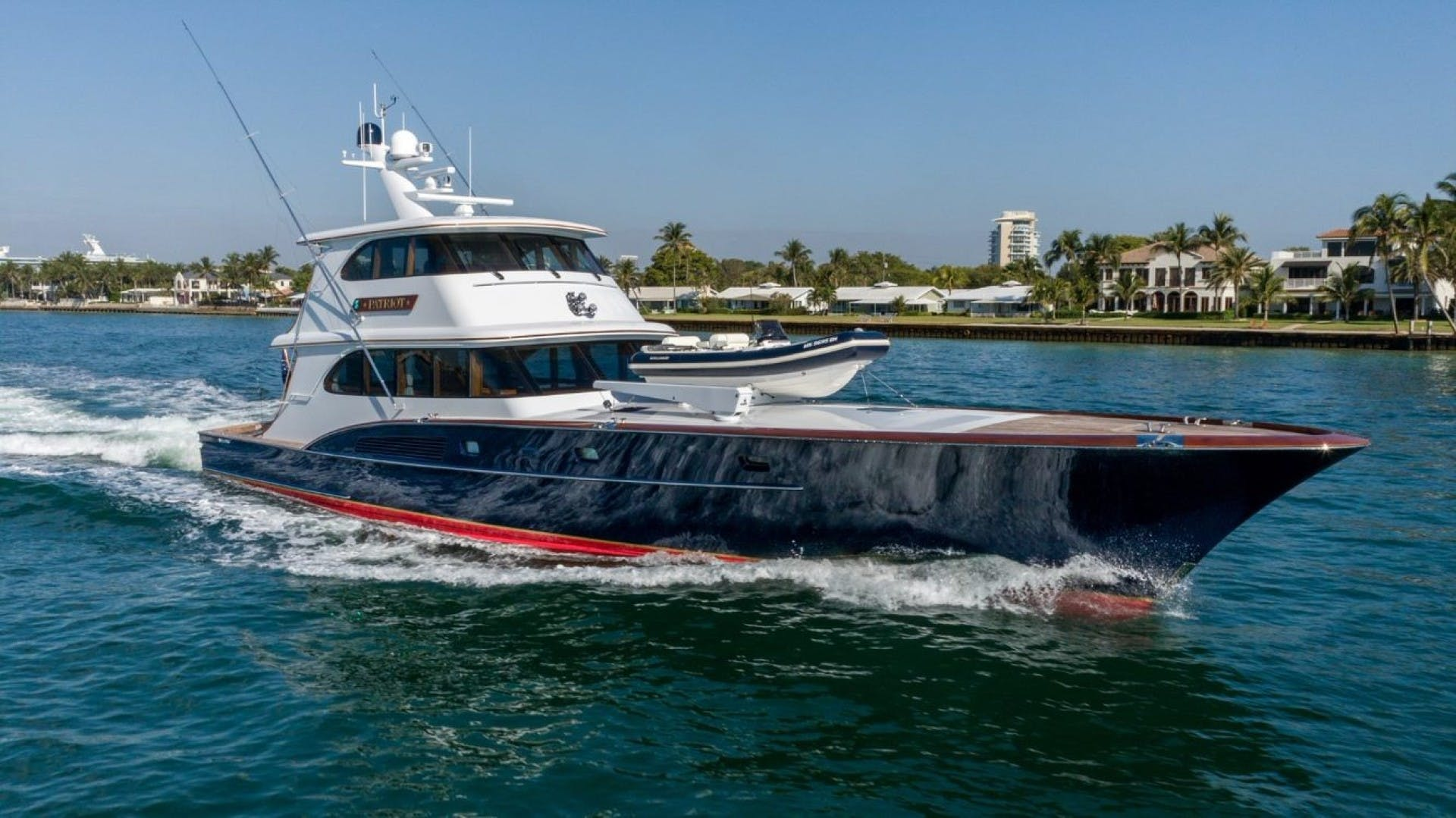 1984 Feadship 87' Gentleman's Sport Yacht Patriot | Picture 1 of 44
