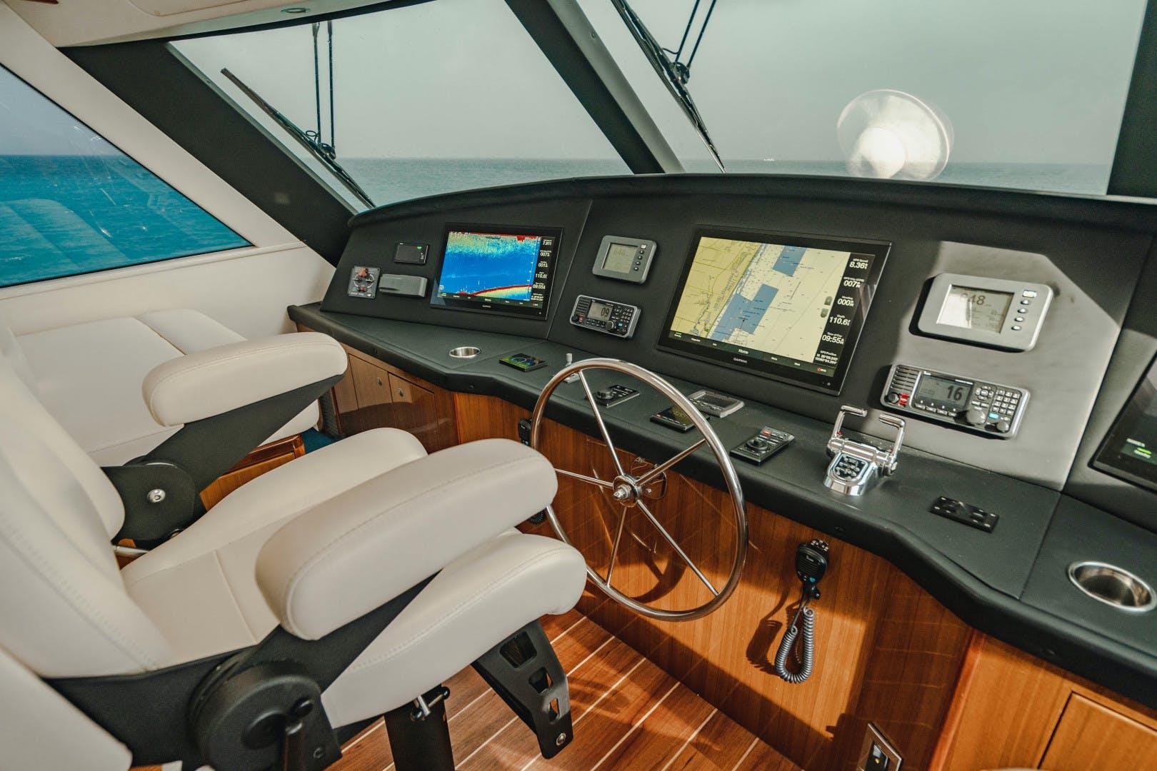 2008 Viking 64' Enclosed Bridge    Picture 7 of 79