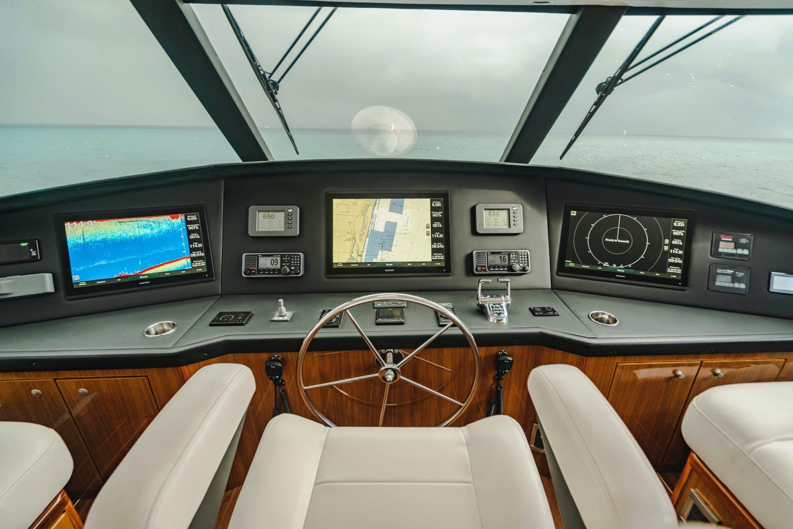 2008 Viking 64' Enclosed Bridge    Picture 6 of 79