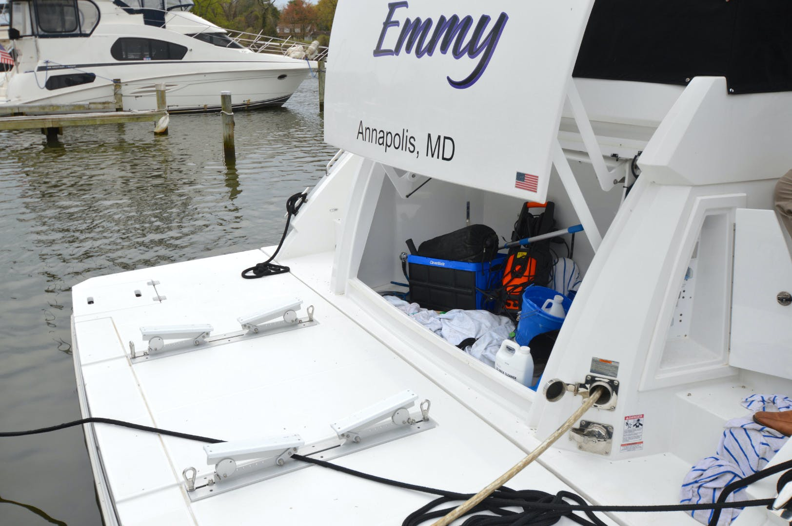 2018 Cruisers 60' 60 Flybrige The Emmy | Picture 8 of 82