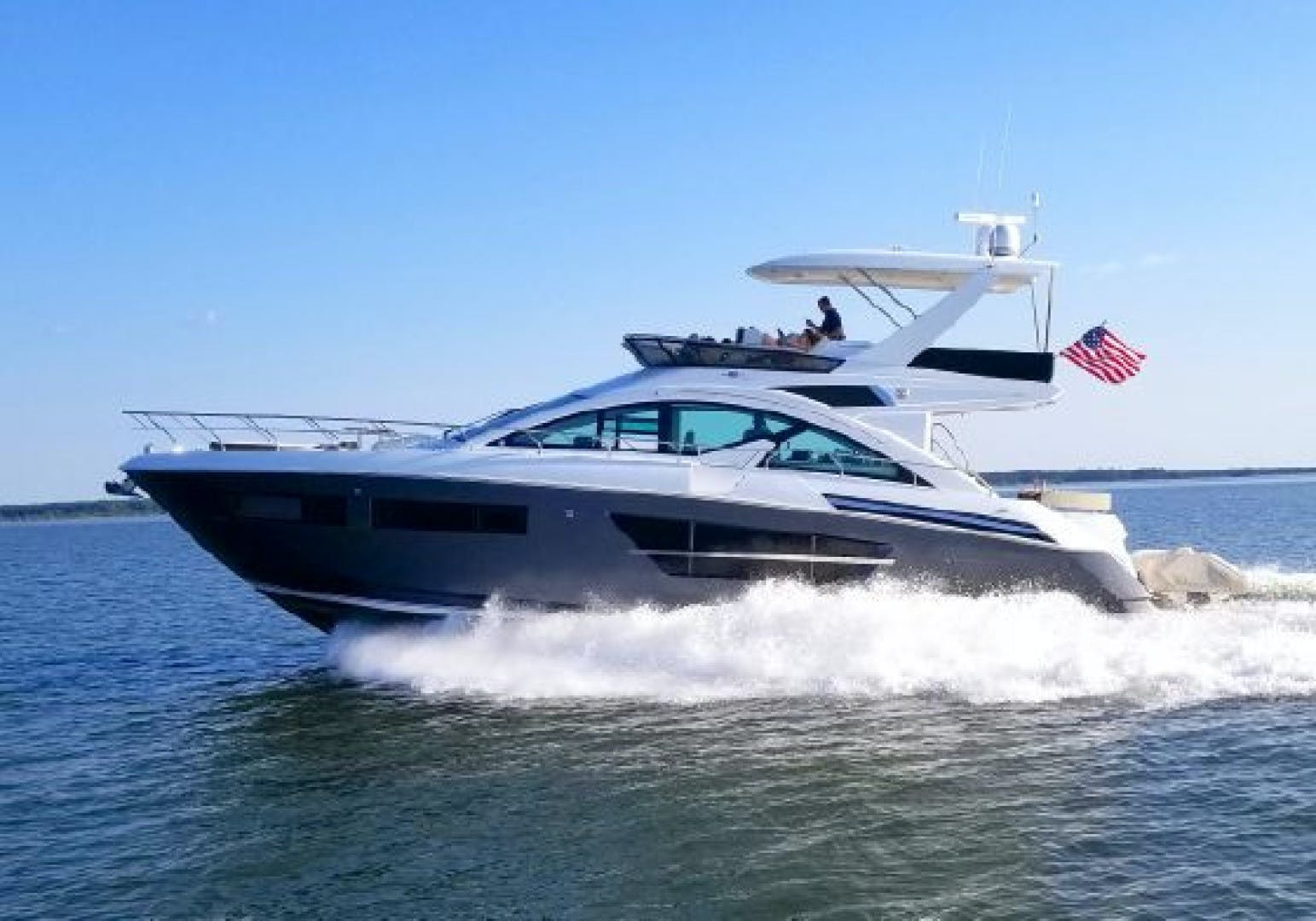 2018 Cruisers 60' 60 Flybrige The Emmy | Picture 1 of 82
