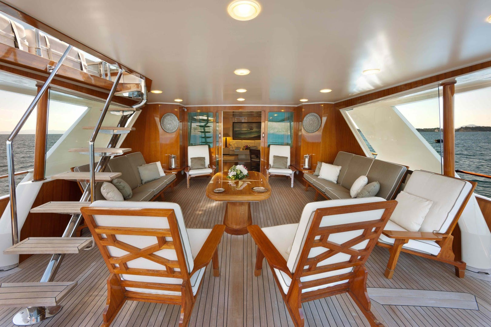 1981 Admiral 118'  SAUDADES | Picture 4 of 22