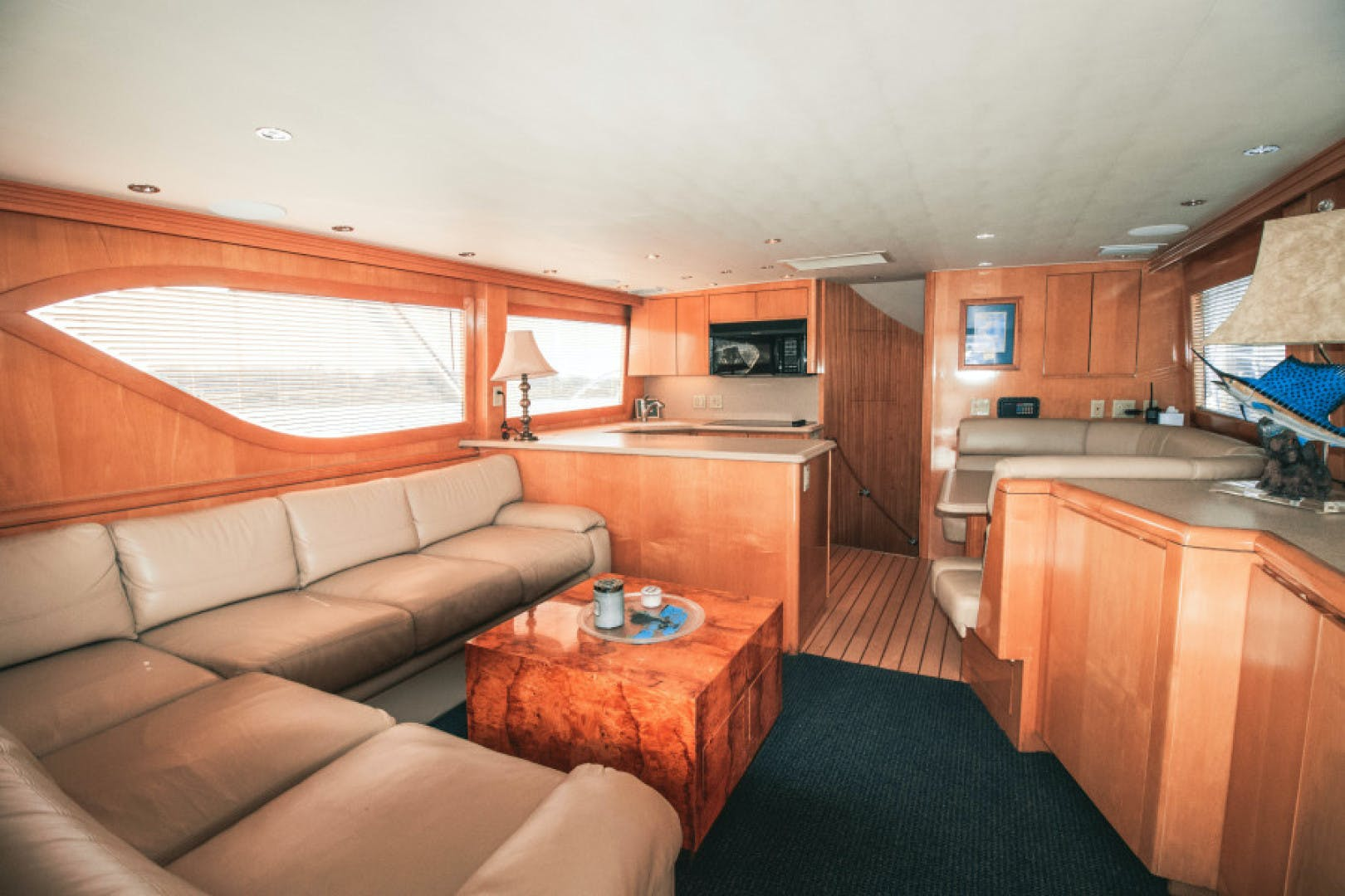 1999 Hatteras 60' Convertible Son House | Picture 2 of 16