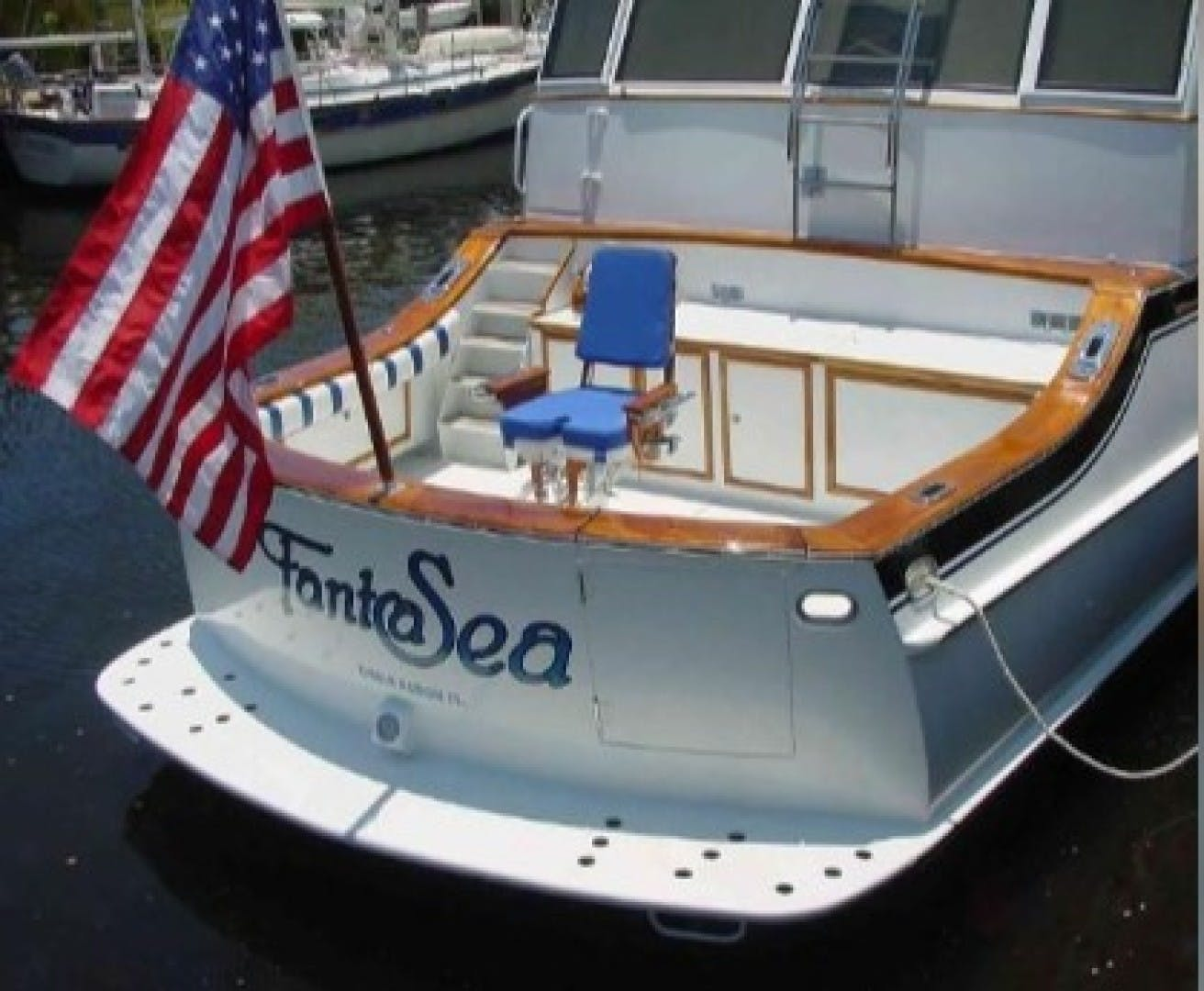 1965 Burger 78' Cockpit Flybridge Motor Yacht FantaSea | Picture 3 of 53