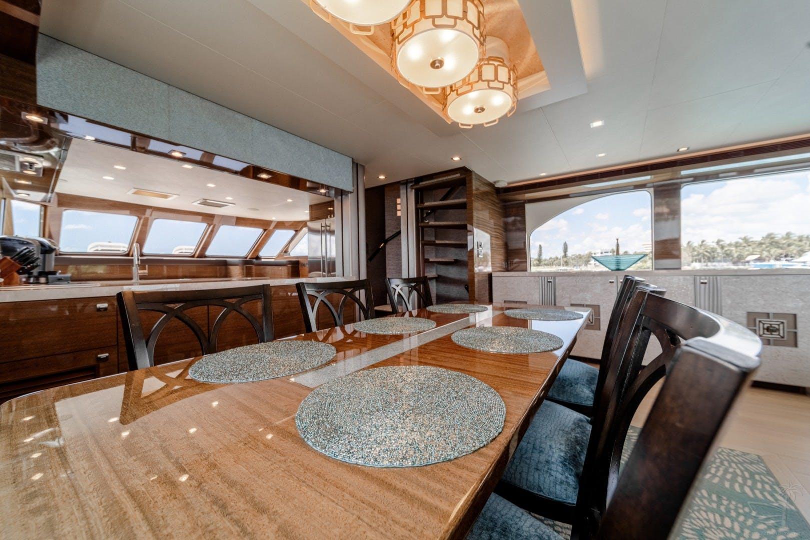 2018 Cheoy Lee 78' 78 Bravo Sport Motor Yacht Deep Blue Zee   Picture 3 of 174