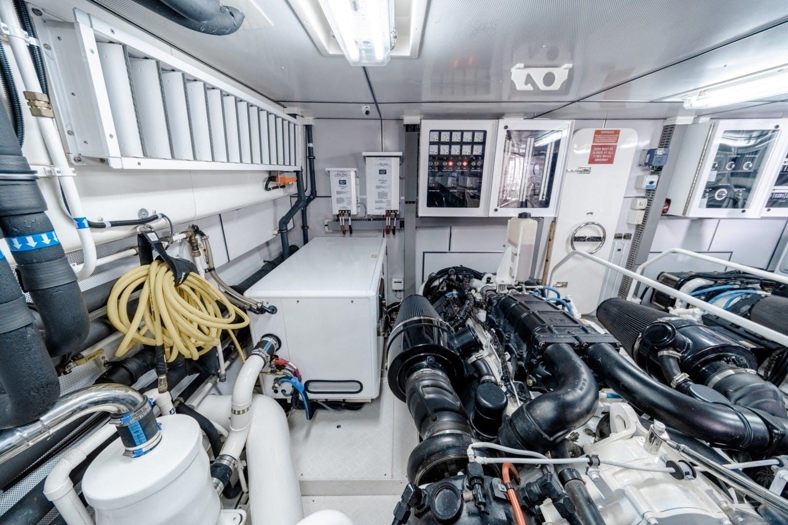 2018 Cheoy Lee 78' 78 Bravo Sport Motor Yacht Deep Blue Zee   Picture 1 of 174