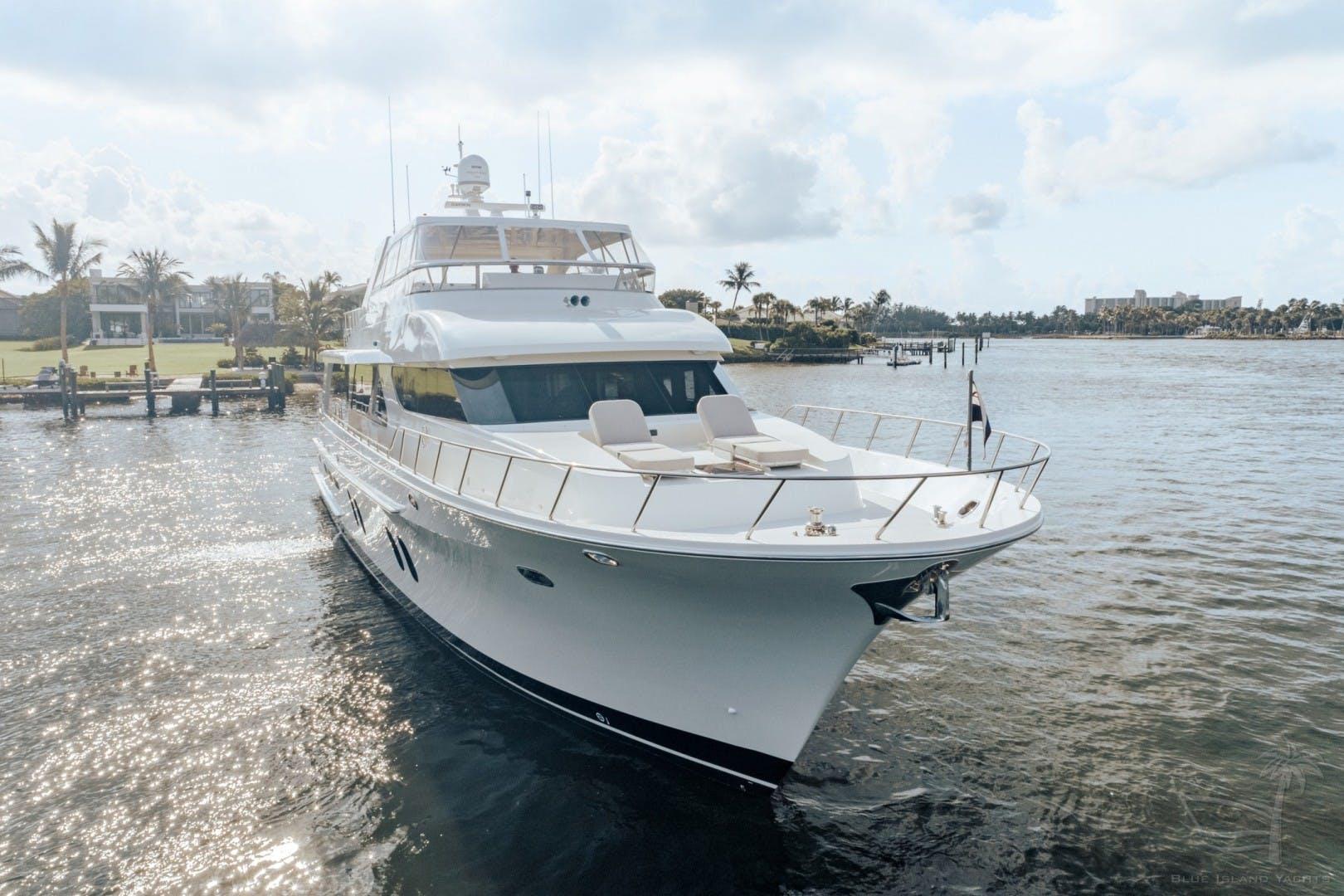 2018 Cheoy Lee 78' 78 Bravo Sport Motor Yacht Deep Blue Zee   Picture 4 of 174