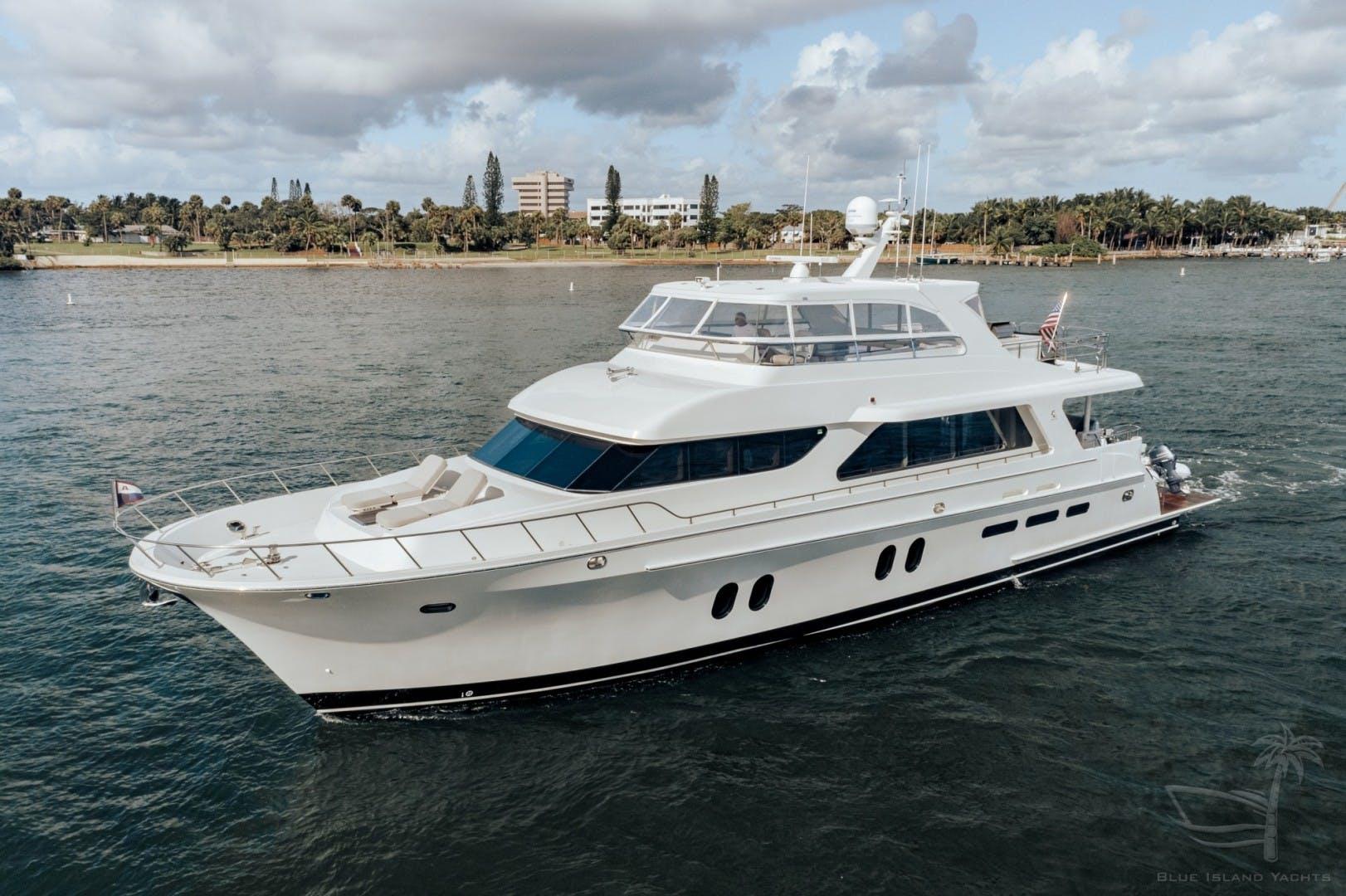 2018 Cheoy Lee 78' 78 Bravo Sport Motor Yacht Deep Blue Zee   Picture 5 of 174