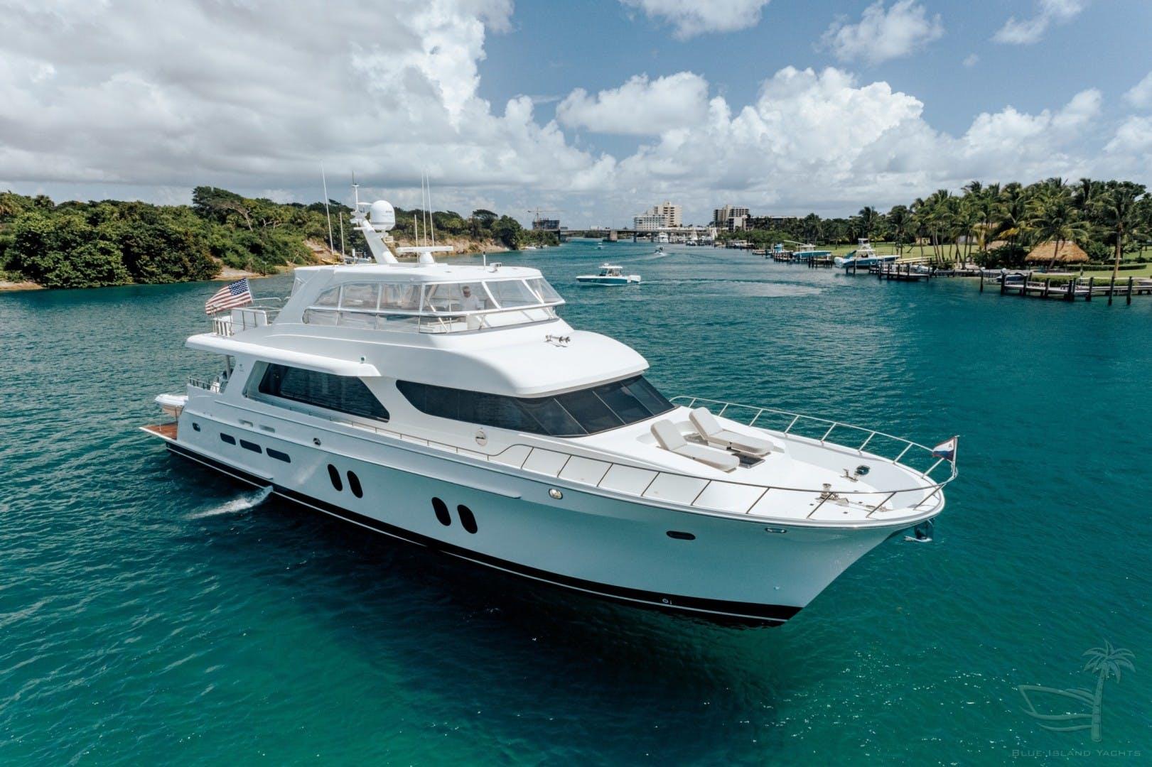 2018 Cheoy Lee 78' 78 Bravo Sport Motor Yacht Deep Blue Zee   Picture 8 of 174