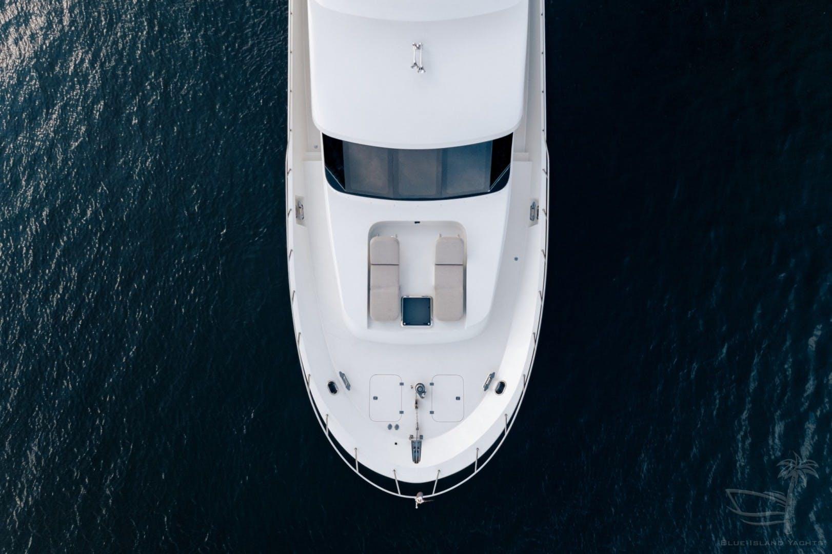 2018 Cheoy Lee 78' 78 Bravo Sport Motor Yacht Deep Blue Zee   Picture 6 of 174
