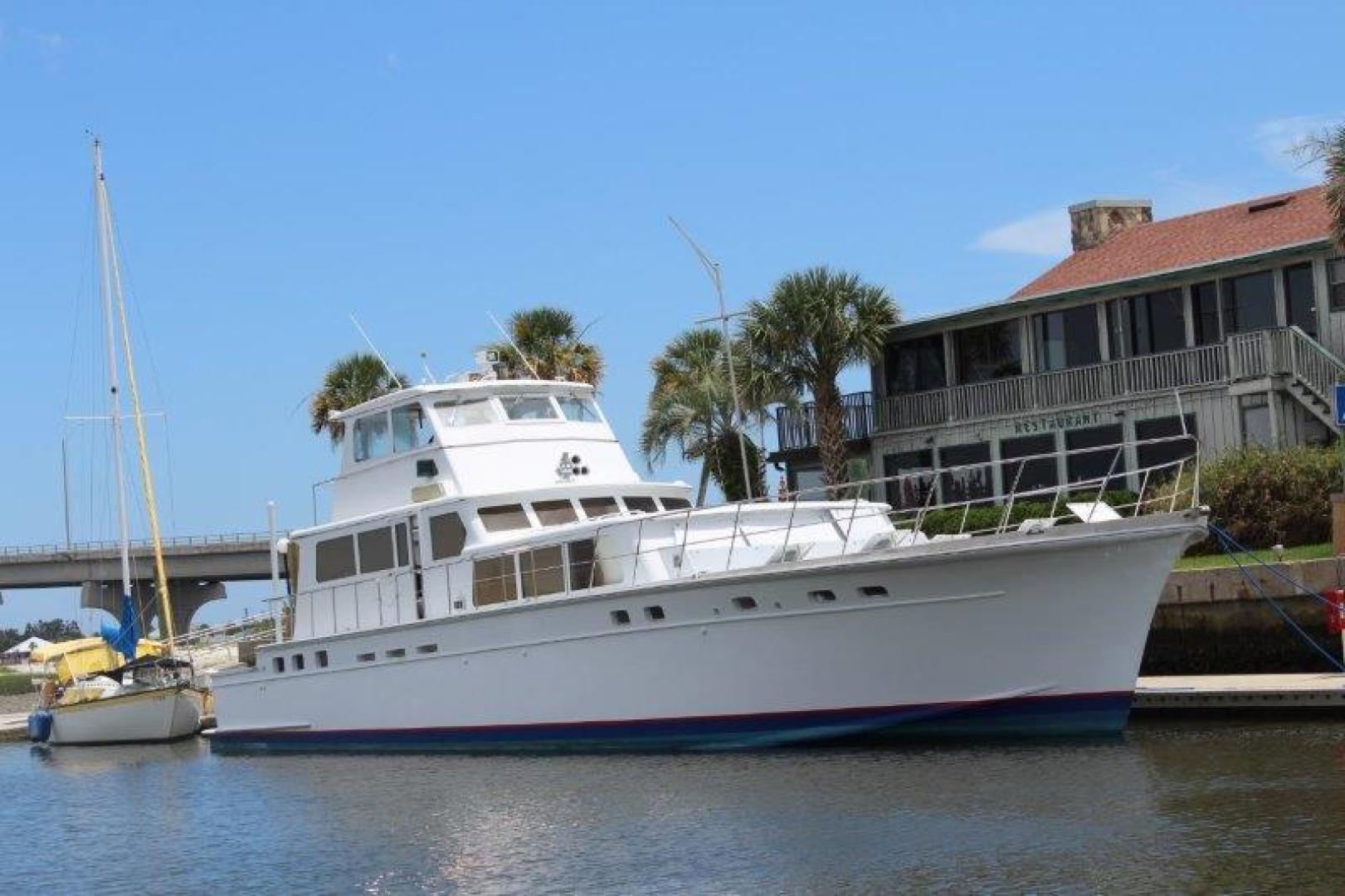 """1980 Huckins 90' Yachtfish """"Hemingway"""""""
