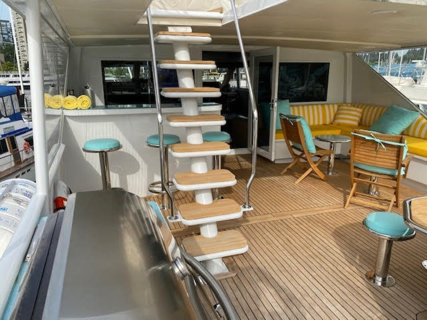 1993 Broward 123' Tri Deck Sovereign Lady   Picture 6 of 23