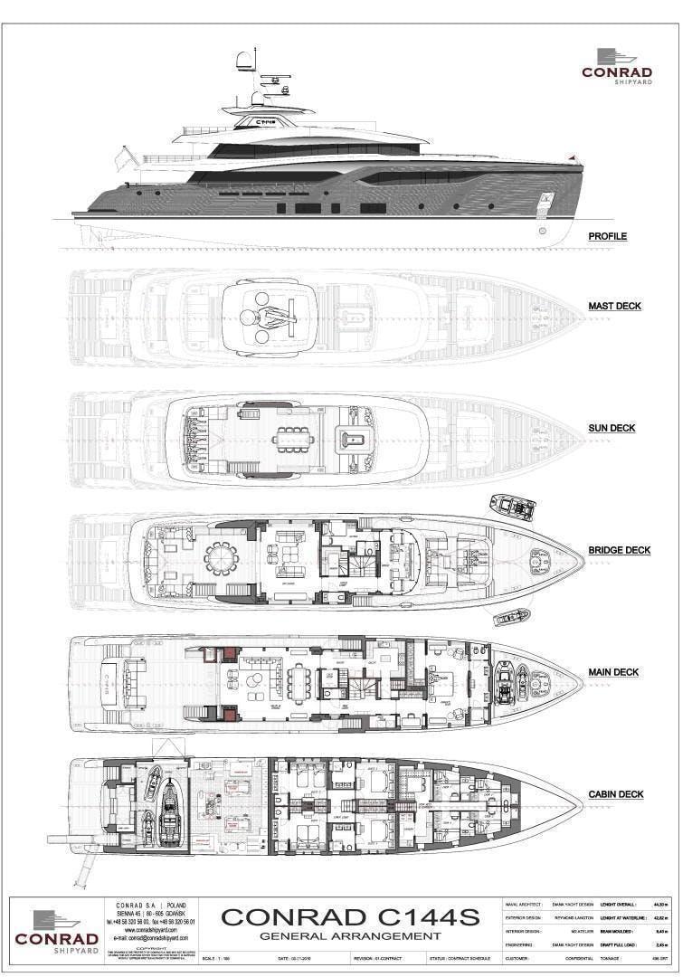 2023 Conrad 144' C144S Conrad C144S Hull 2 | Picture 3 of 51
