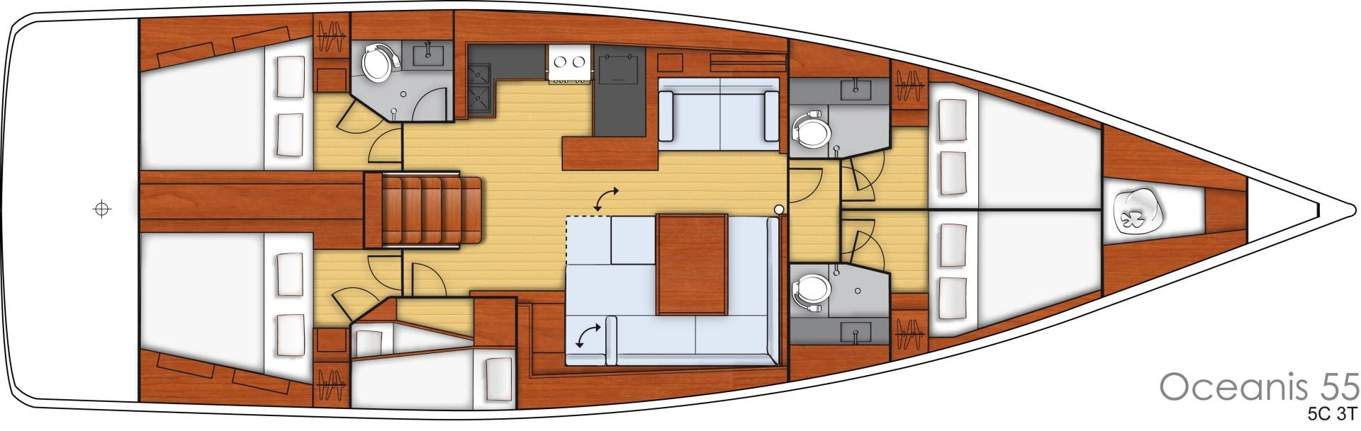 2015 Beneteau 55' Oceanis 55 FIRST SIP | Picture 8 of 33