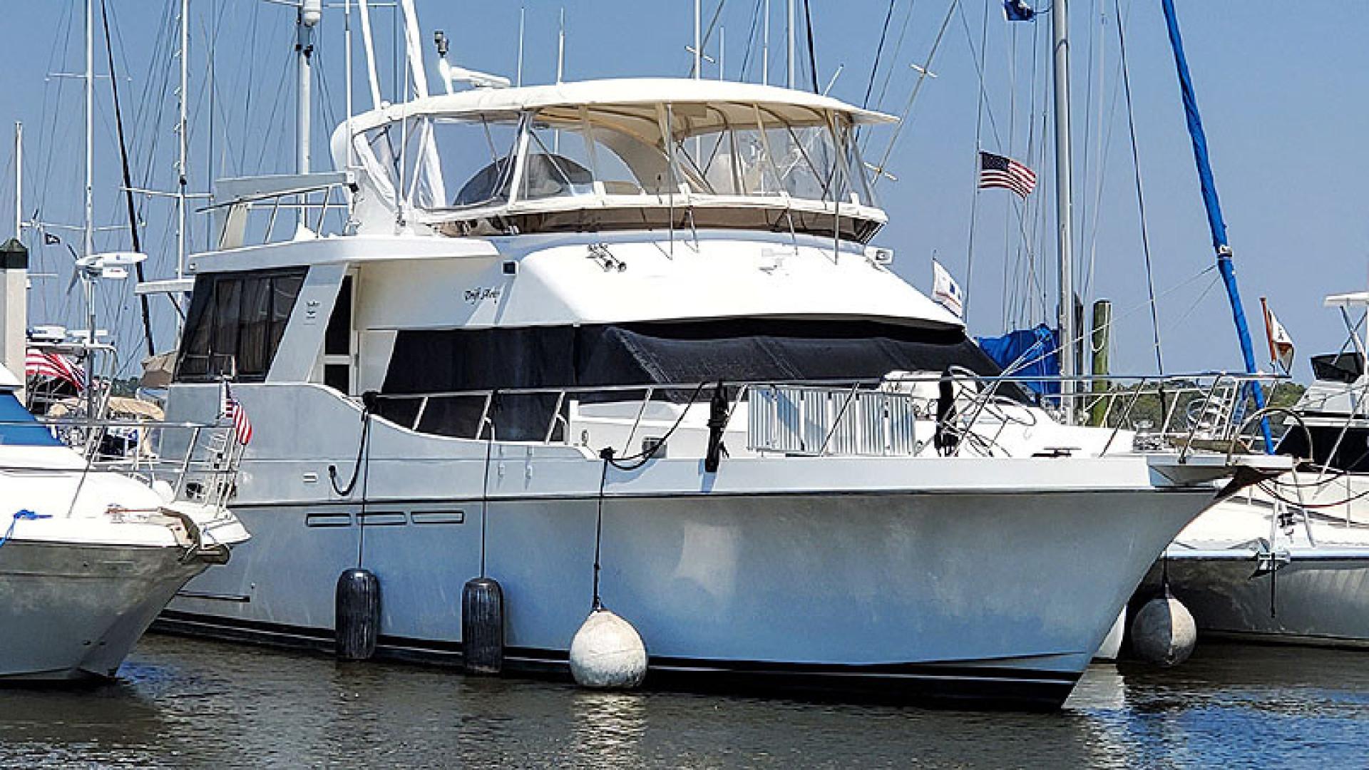 55' Ocean Alexander 1996 546 Yachtfisher Drift Away