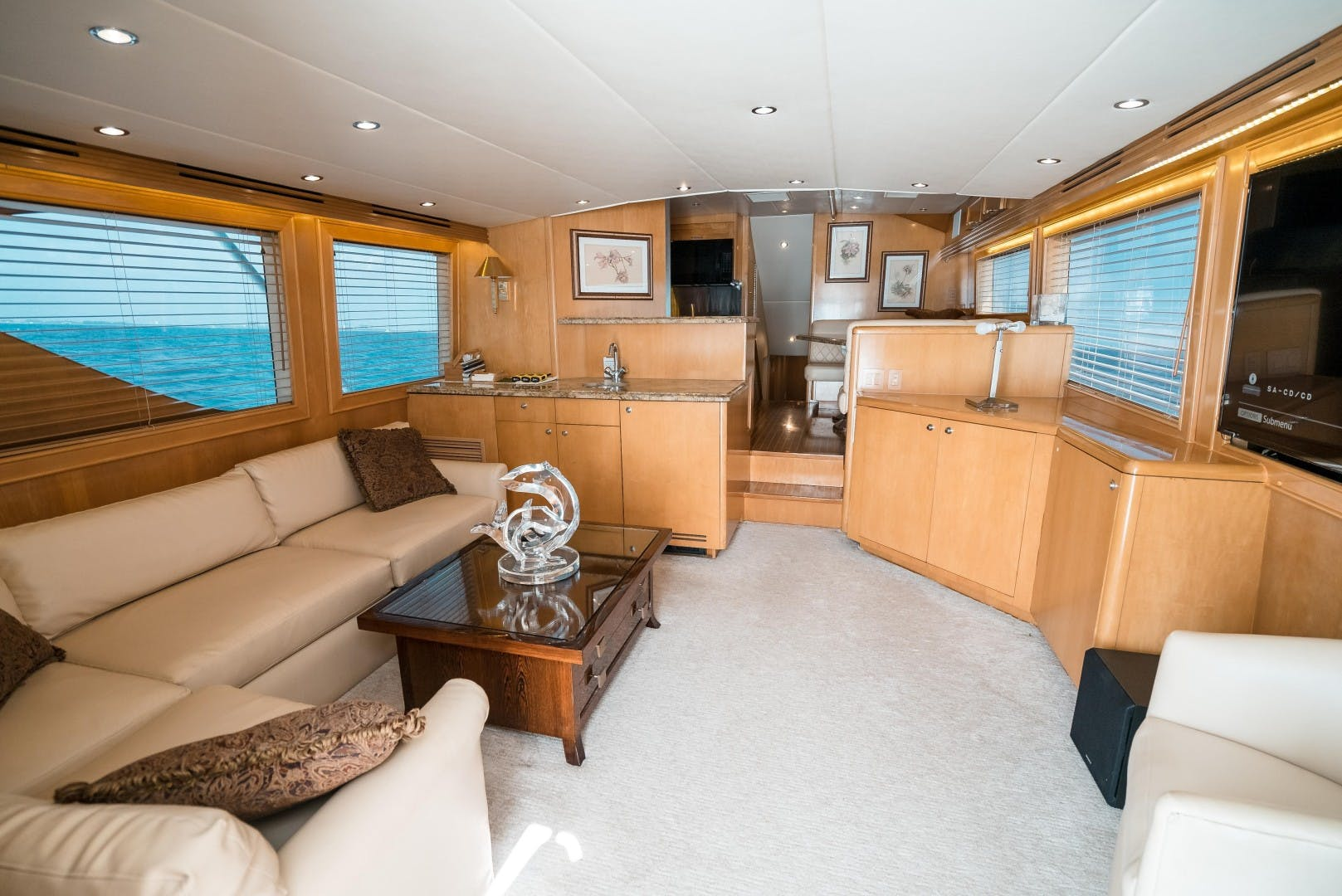 1999 Hatteras 70' Sportfish JUST LIKE THAT | Picture 1 of 68