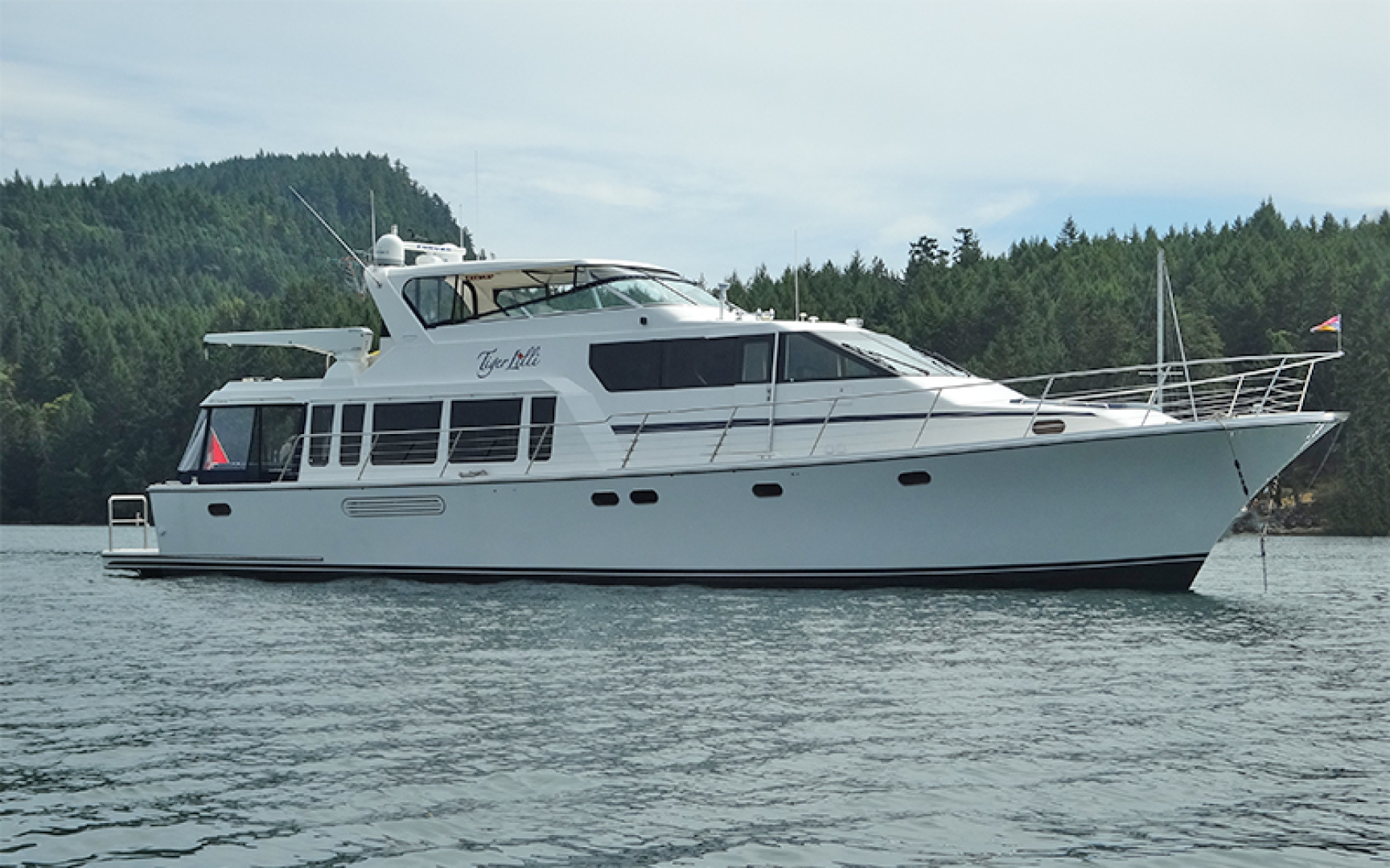 70' Pacific Mariner 2004 65 Diamond TIGER LILLI NAME RESERVED