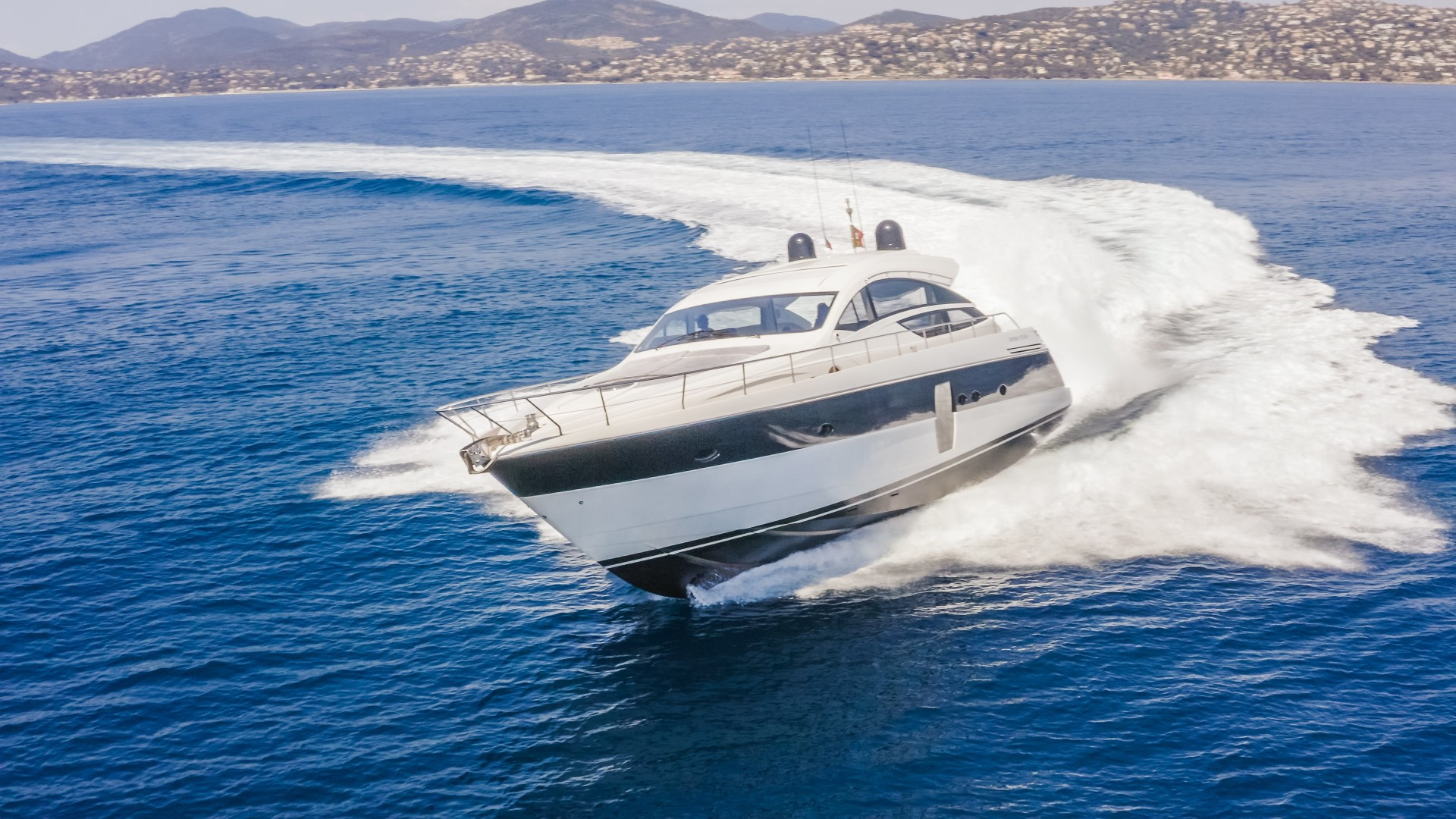 "2009 Pershing 64' 64 ""FIRST LADY"""