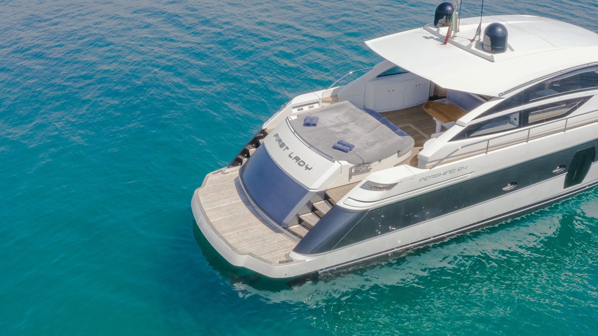 2009 Pershing 64' 64 FIRST LADY   Picture 8 of 40