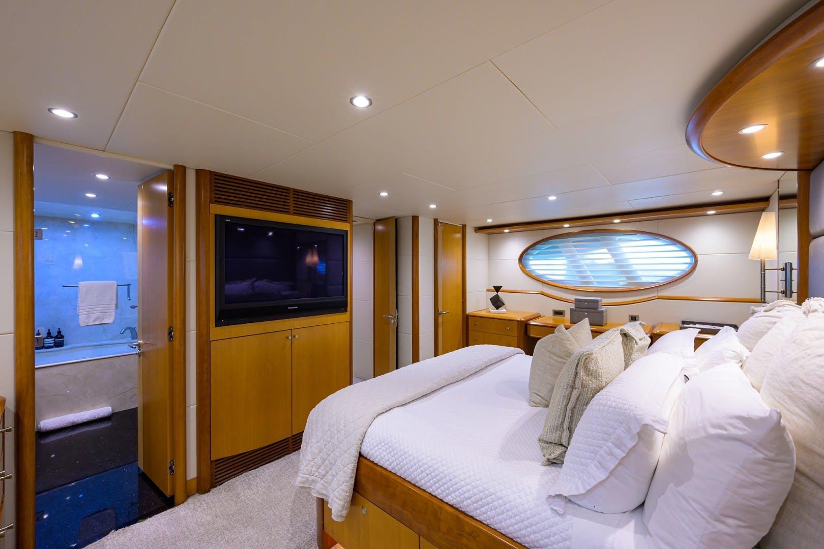 2008 Lazzara Yachts 84' Open Bridge LIVING THE DREAM | Picture 1 of 55