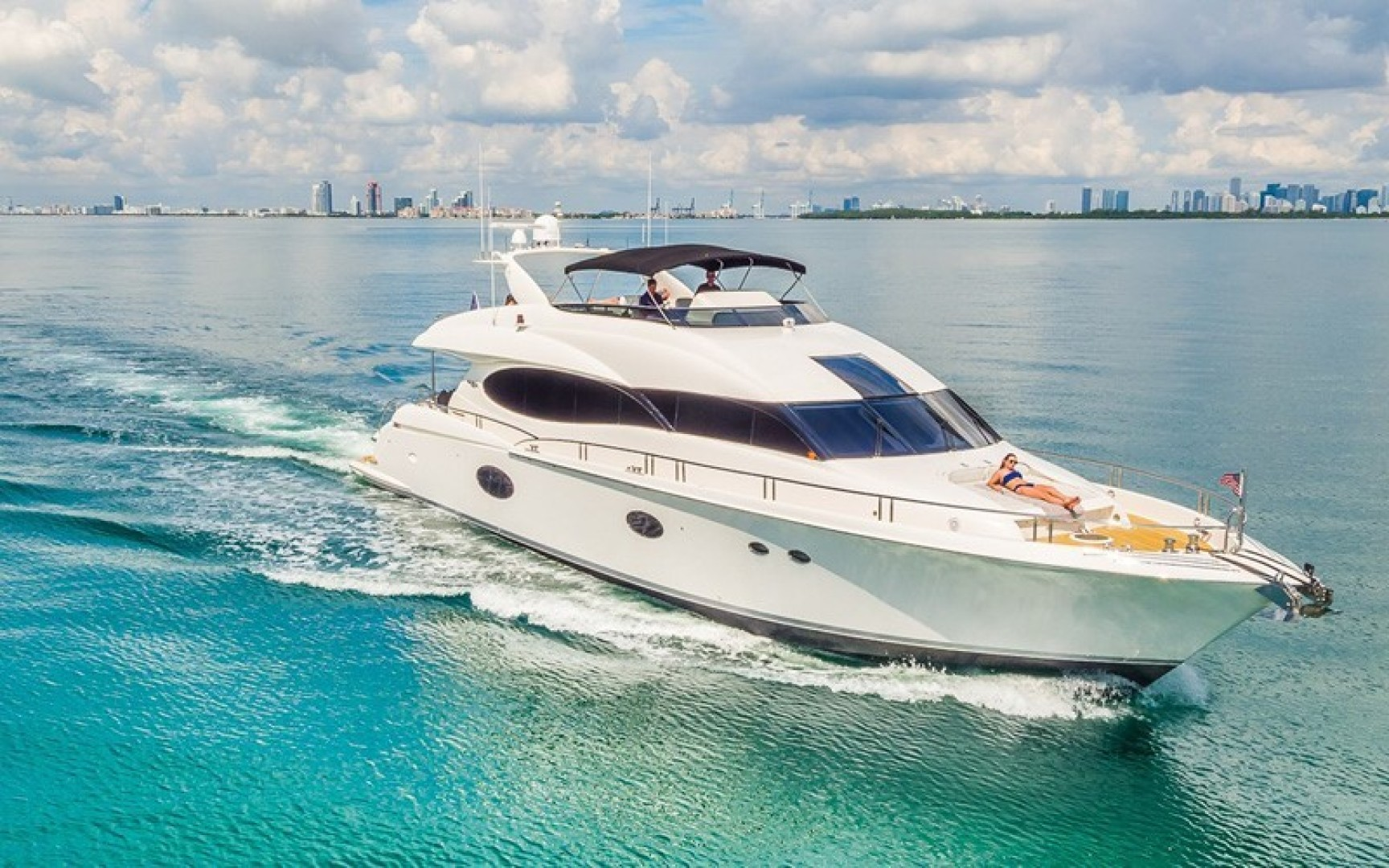 "2008 Lazzara Yachts 84' Open Bridge ""LIVING THE DREAM"""