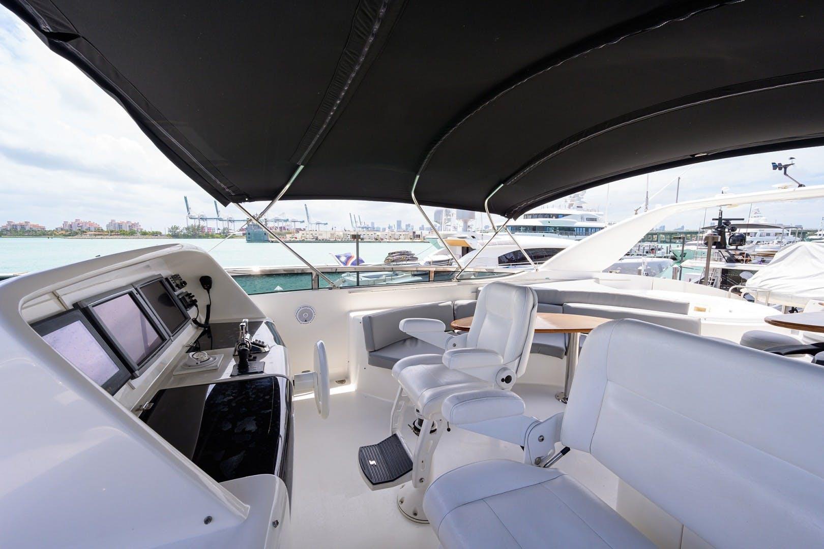 2008 Lazzara Yachts 84' Open Bridge LIVING THE DREAM | Picture 8 of 55