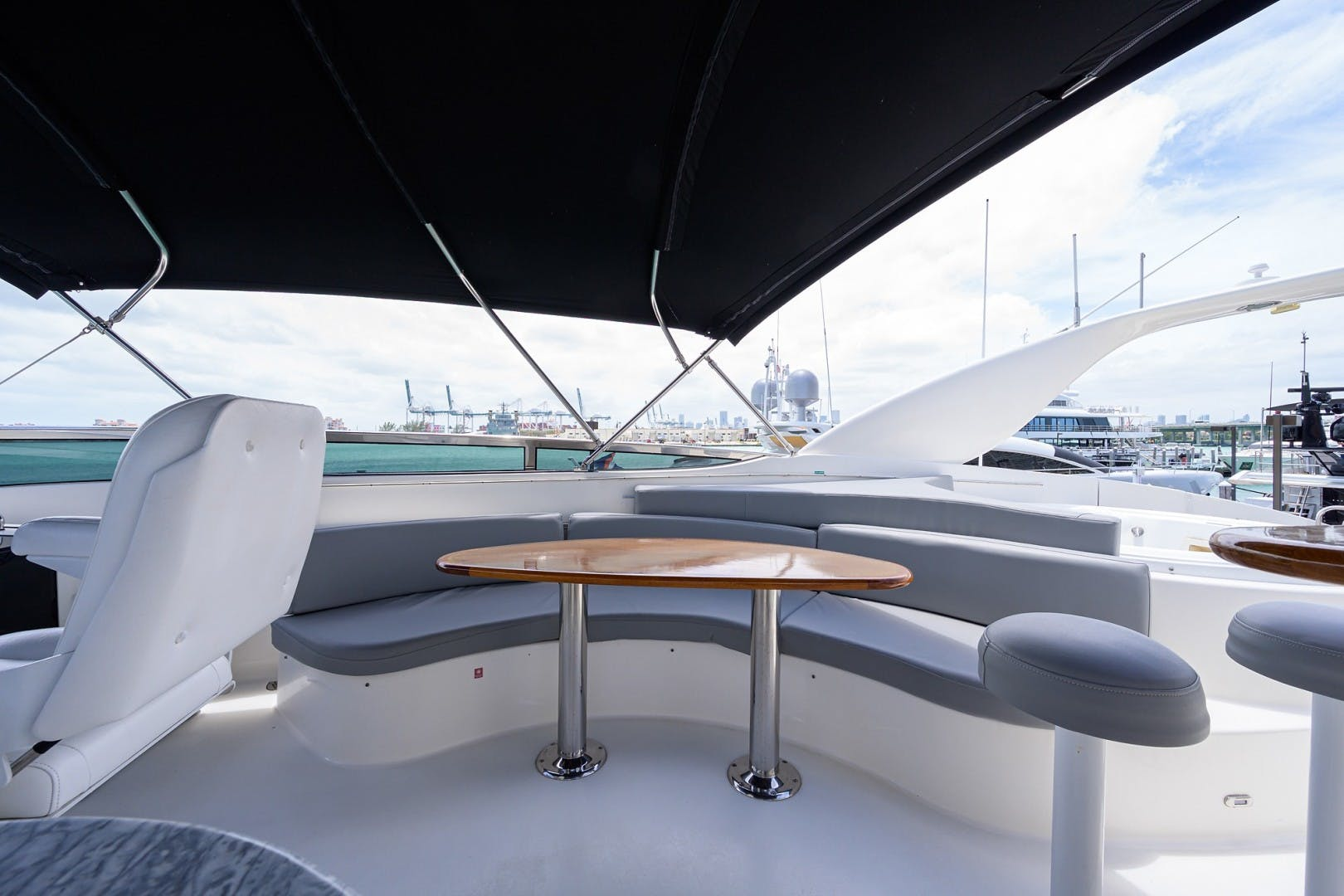 2008 Lazzara Yachts 84' Open Bridge LIVING THE DREAM | Picture 5 of 55