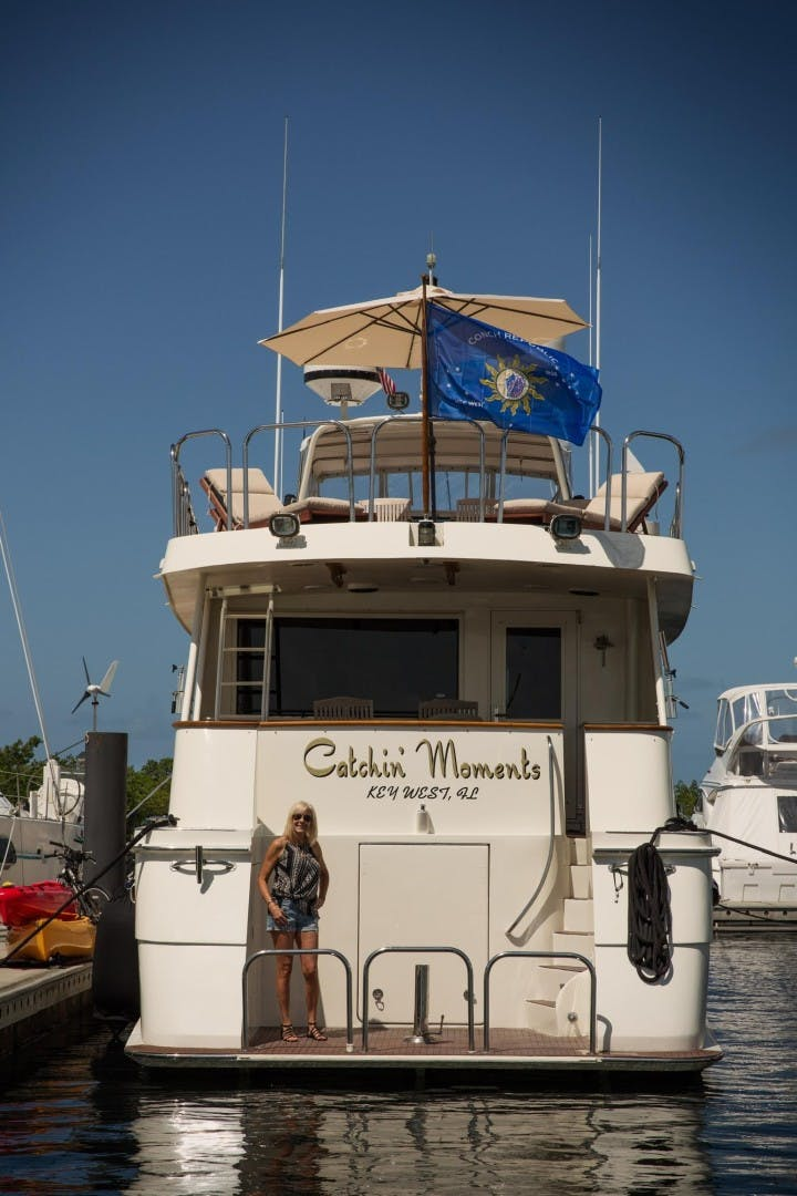 1989 Hatteras 82'  CATCHIN MOMENTS   Picture 7 of 41
