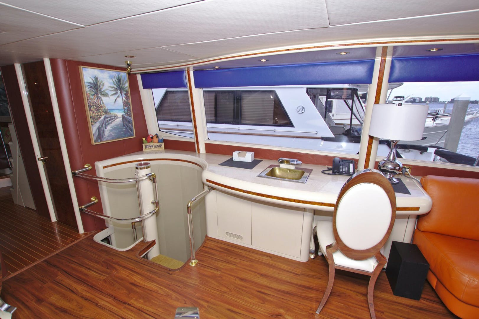1995 Lazzara Yachts 76' 76 GRAND SALON Christmas Spirit | Picture 6 of 106