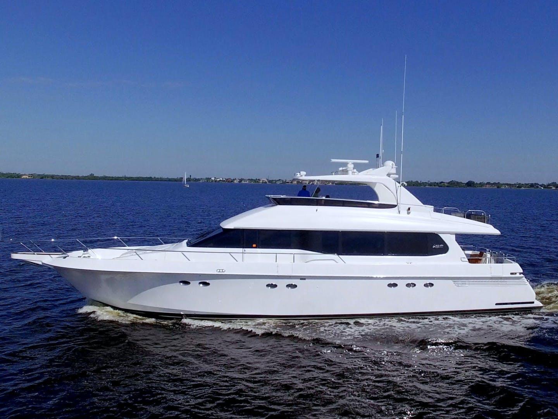 1995 Lazzara Yachts 76' 76 GRAND SALON Christmas Spirit | Picture 8 of 106