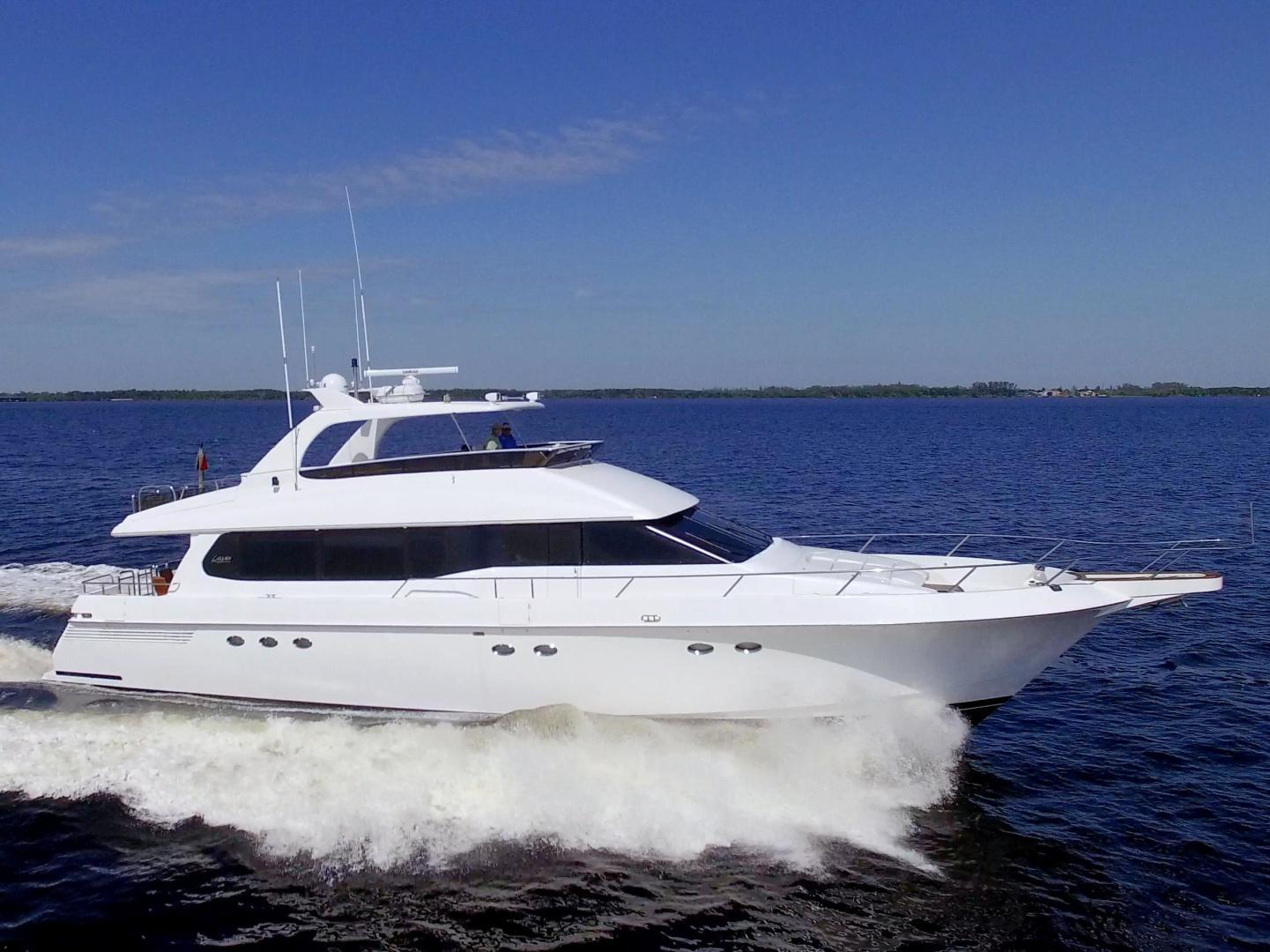 "1995 Lazzara Yachts 76' 76 GRAND SALON ""Christmas Spirit"""
