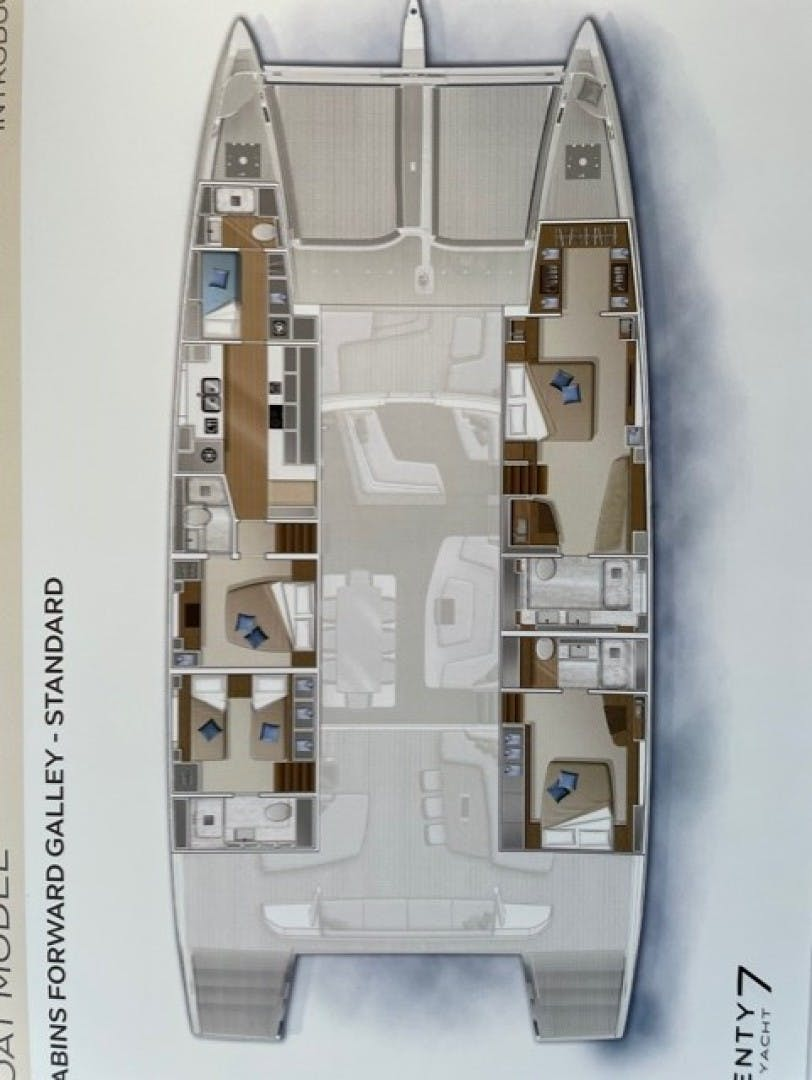 2019 Lagoon 77' Sailing CAT TELLSTAR   Picture 4 of 39