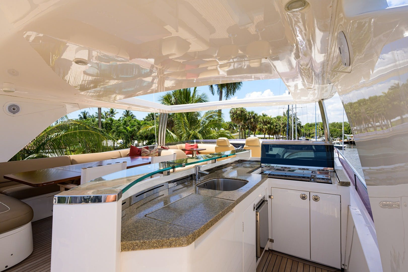 2012 Princess 85' Motor Yacht Praying for Overtime ll | Picture 4 of 63