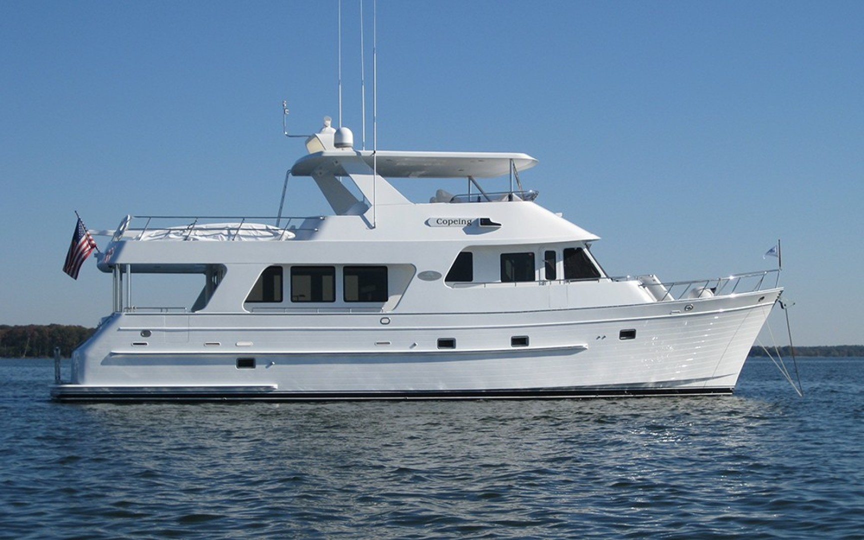 """2006 Outer Reef Yachts 65' 650 MY """"COPEING"""""""
